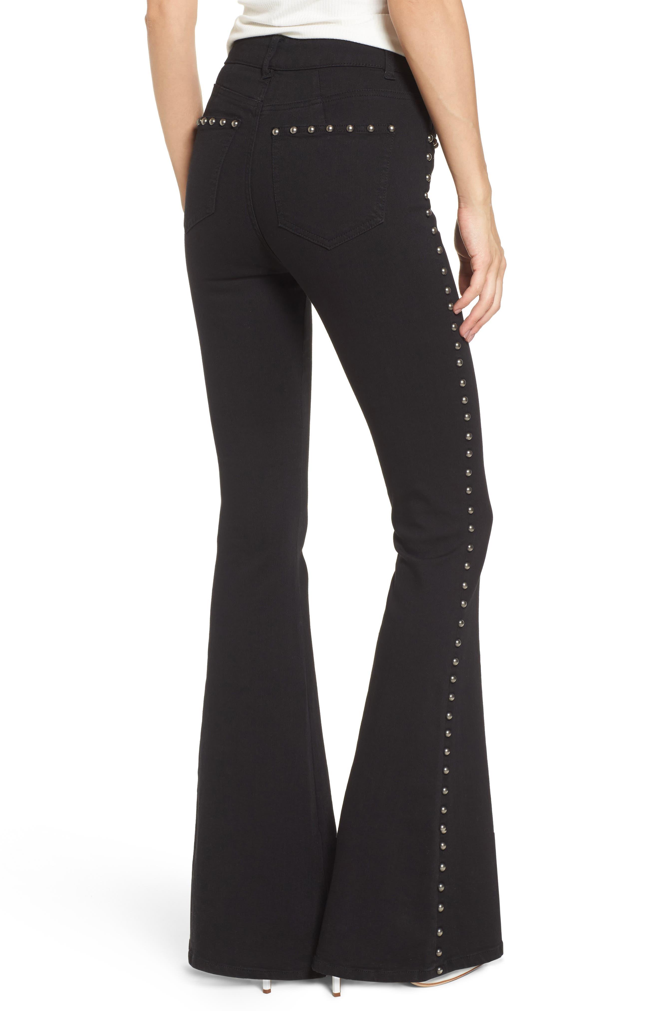 Alternate Image 2  - AFRM Stud Flare Jeans
