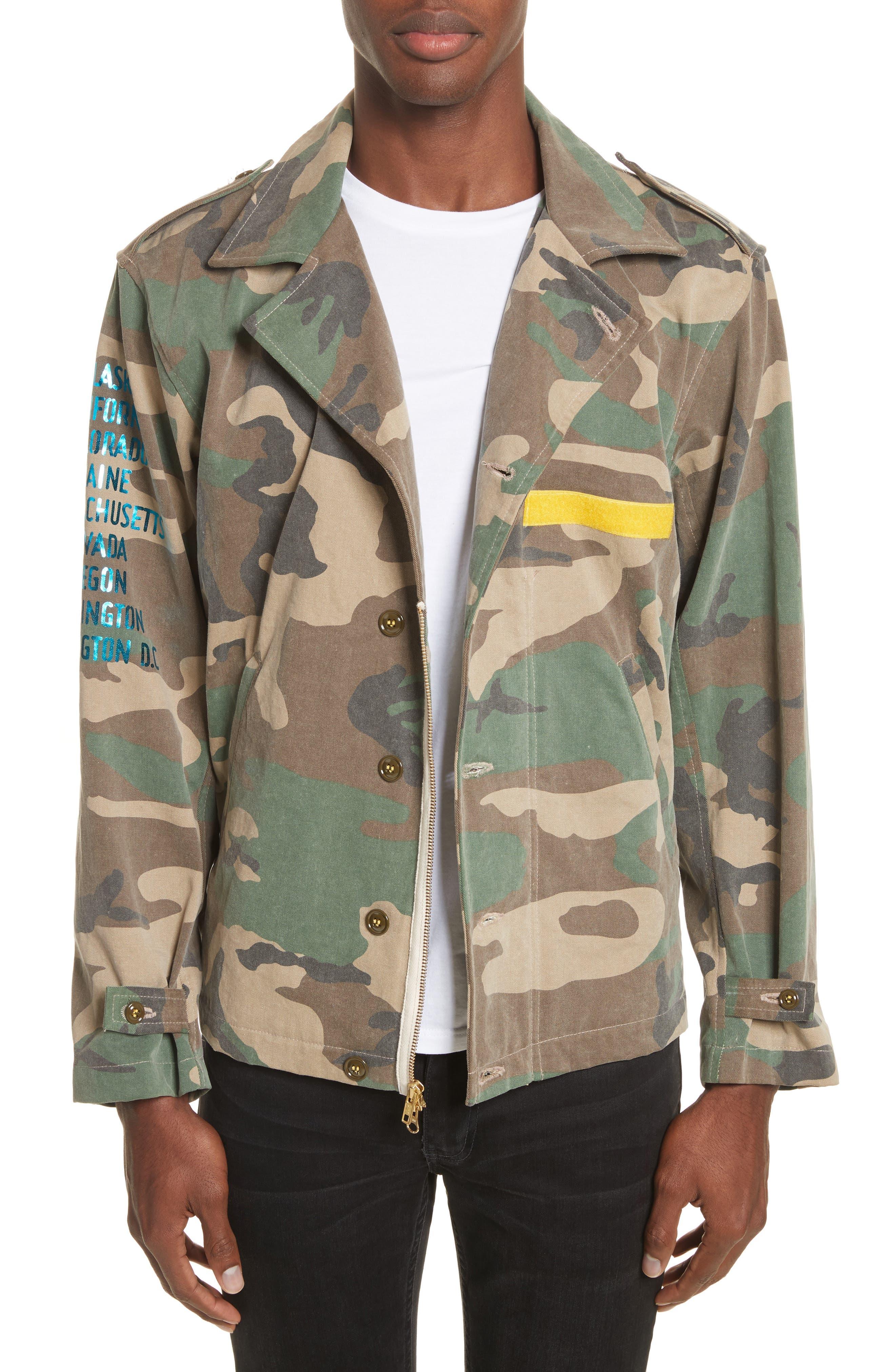 Shango Camo Jacket,                         Main,                         color, Camo Multi
