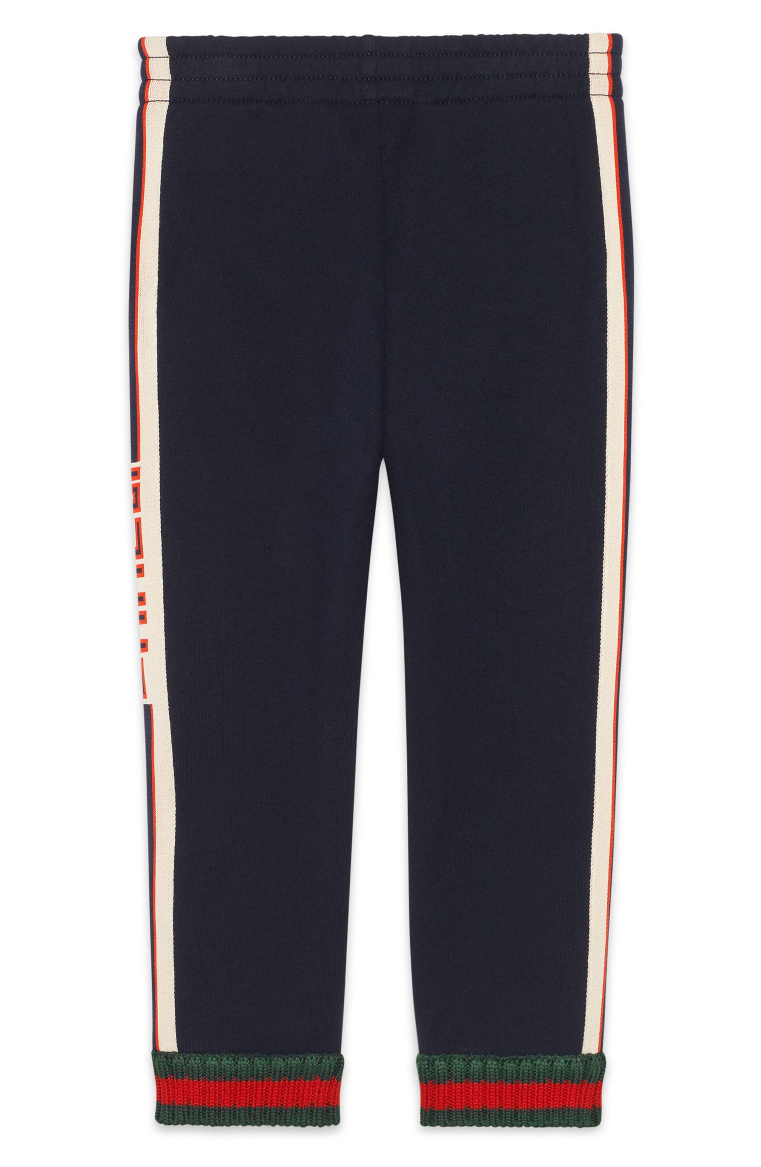 Alternate Image 2  - Gucci Logo Stripe Jogging Pants (Little Boys & Big Boys)