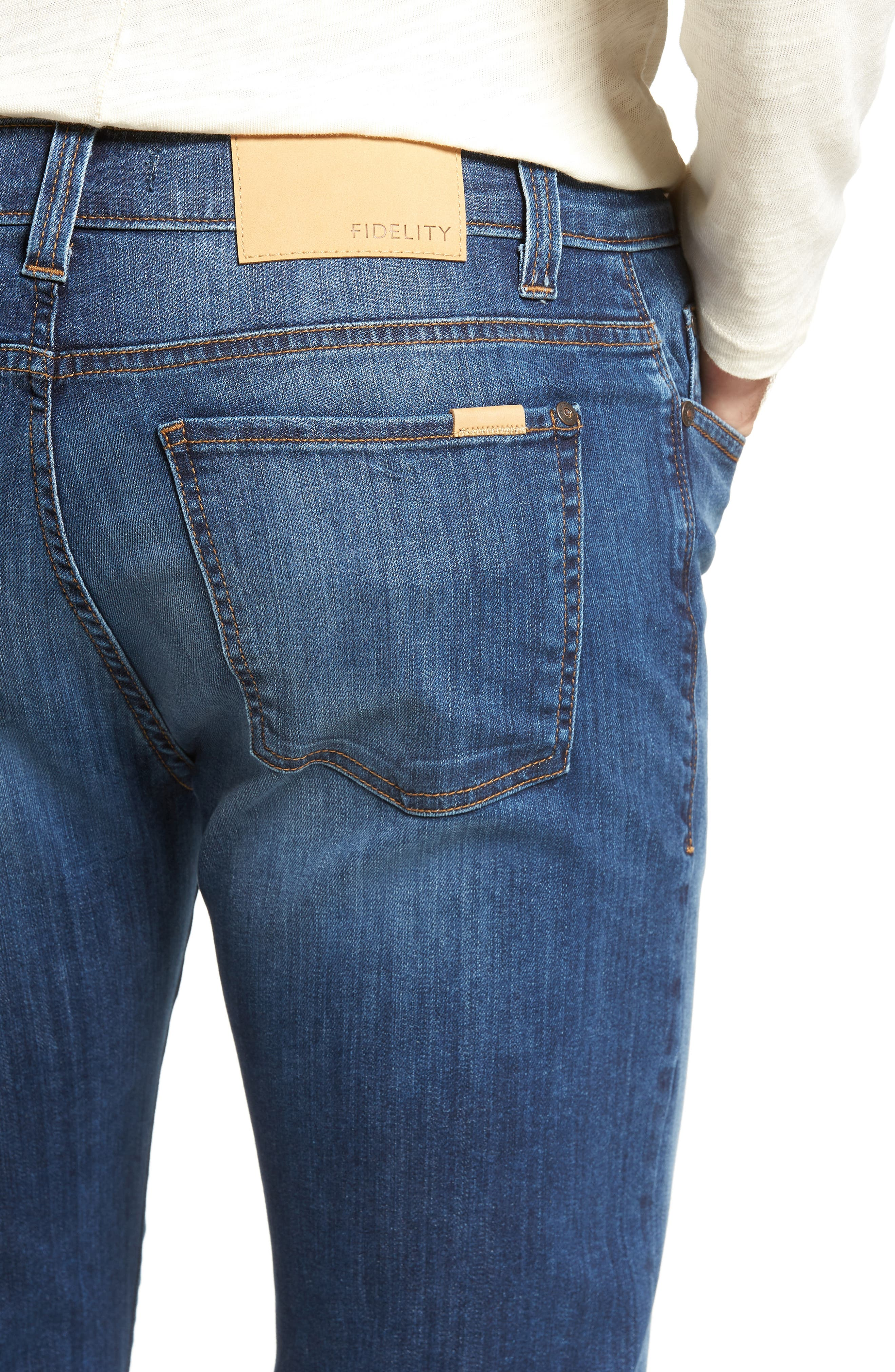 Alternate Image 4  - Fidelity Denim 5011 Relaxed Fit Jeans (Liverpool)