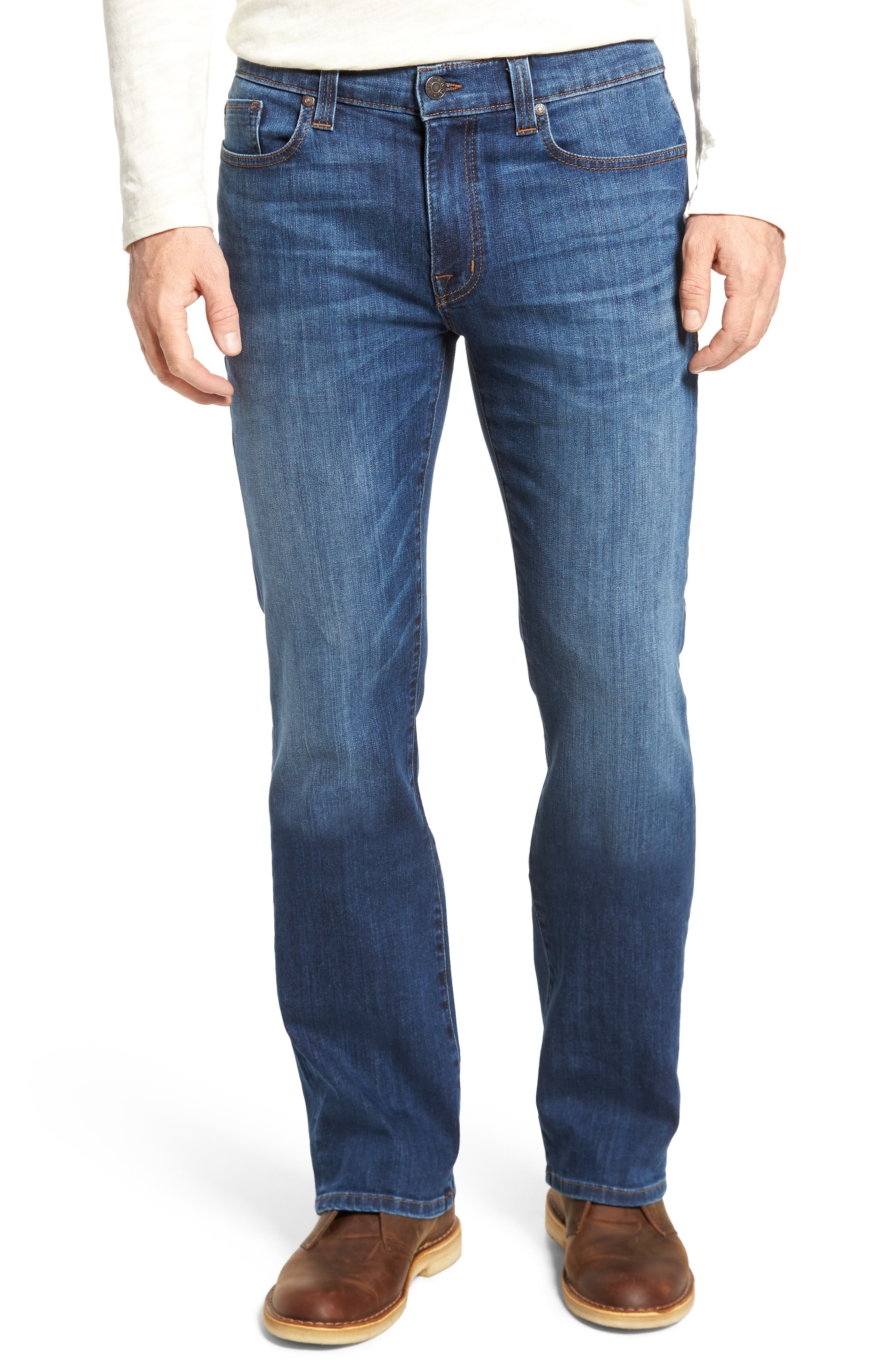 Alternate Image 1 Selected - Fidelity Denim 5011 Relaxed Fit Jeans (Liverpool)