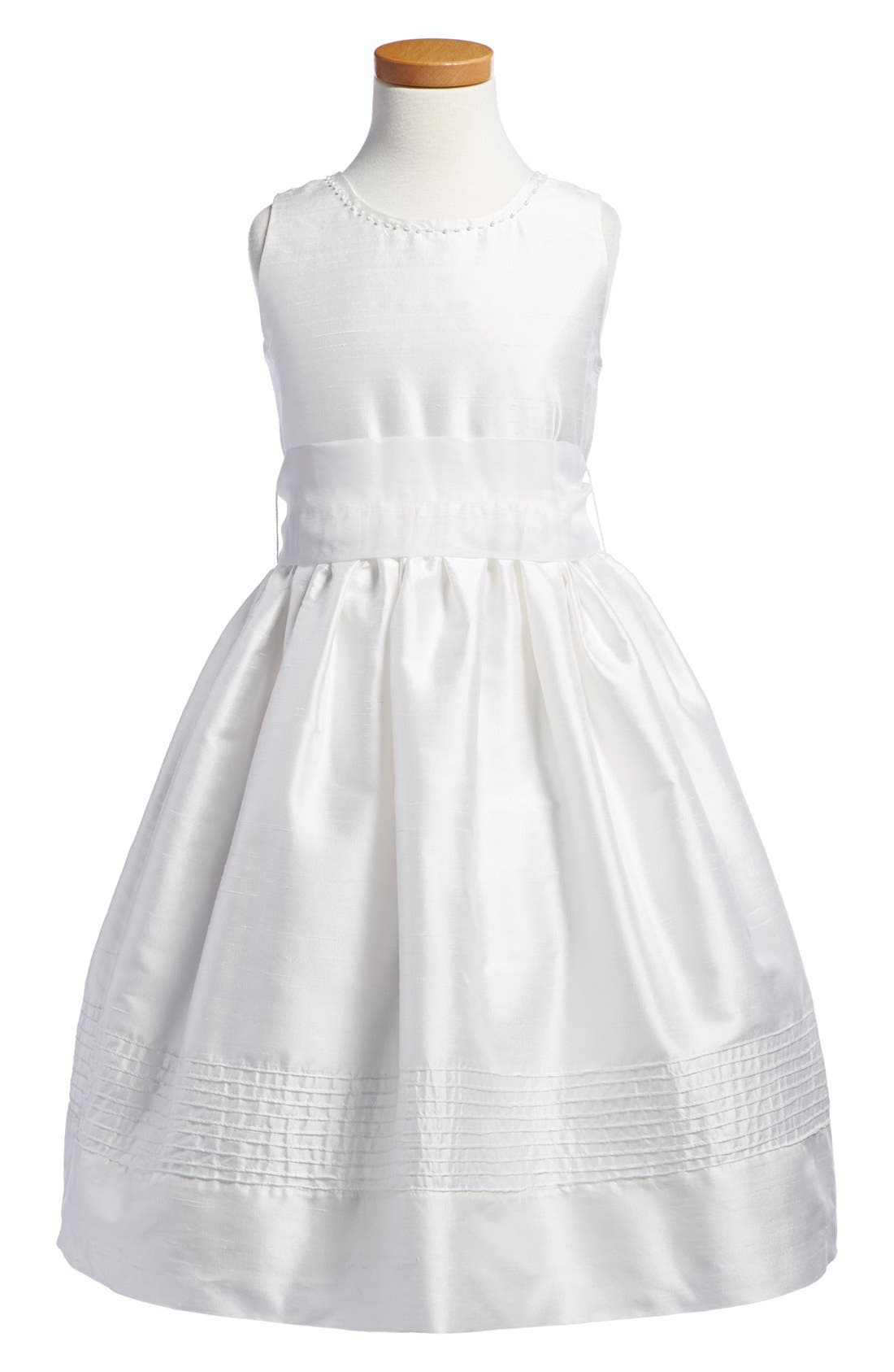 'Melody' Sleeveless Dress,                         Main,                         color, White