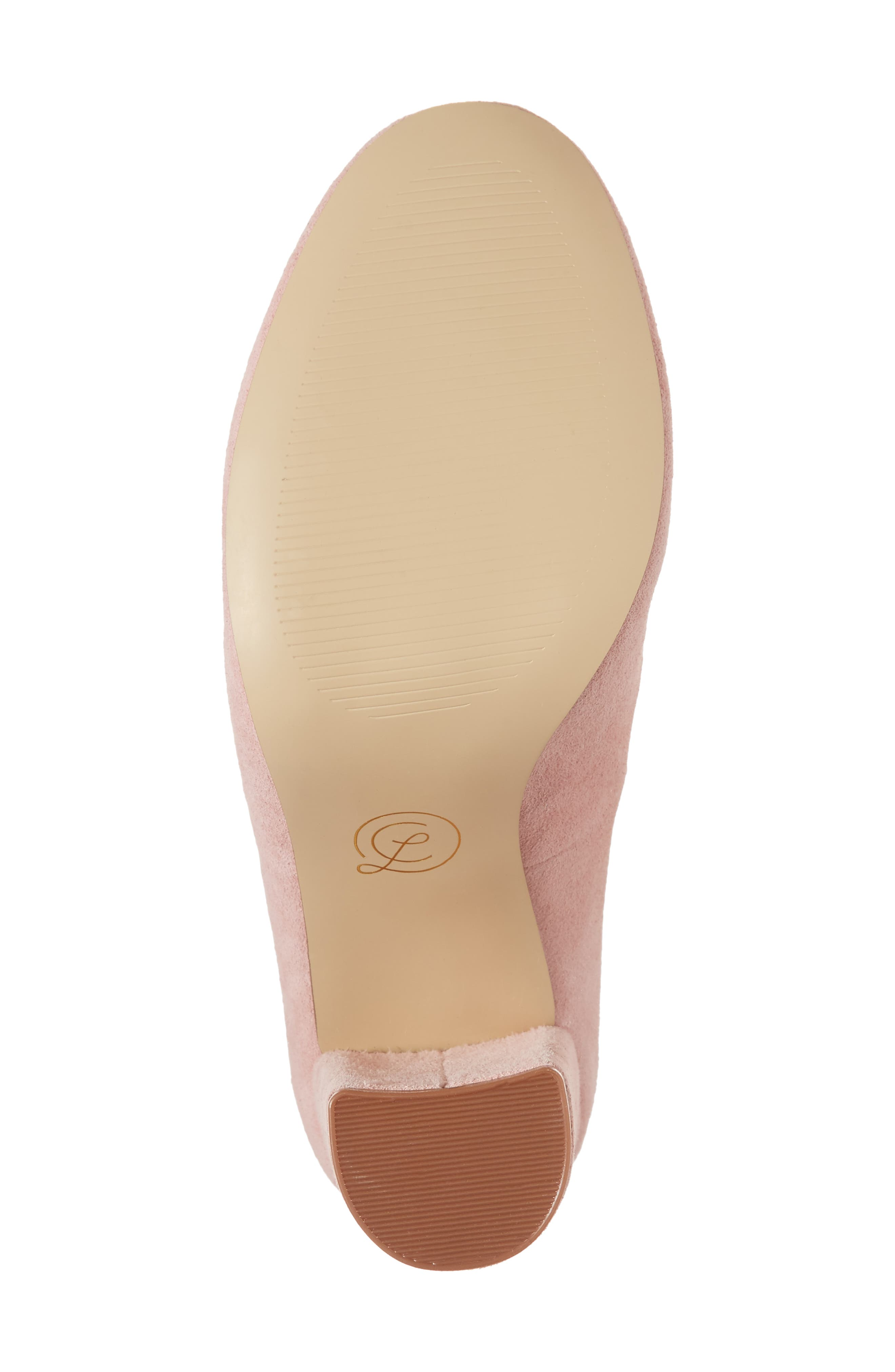Veronika Pump,                             Alternate thumbnail 6, color,                             Rose Suede