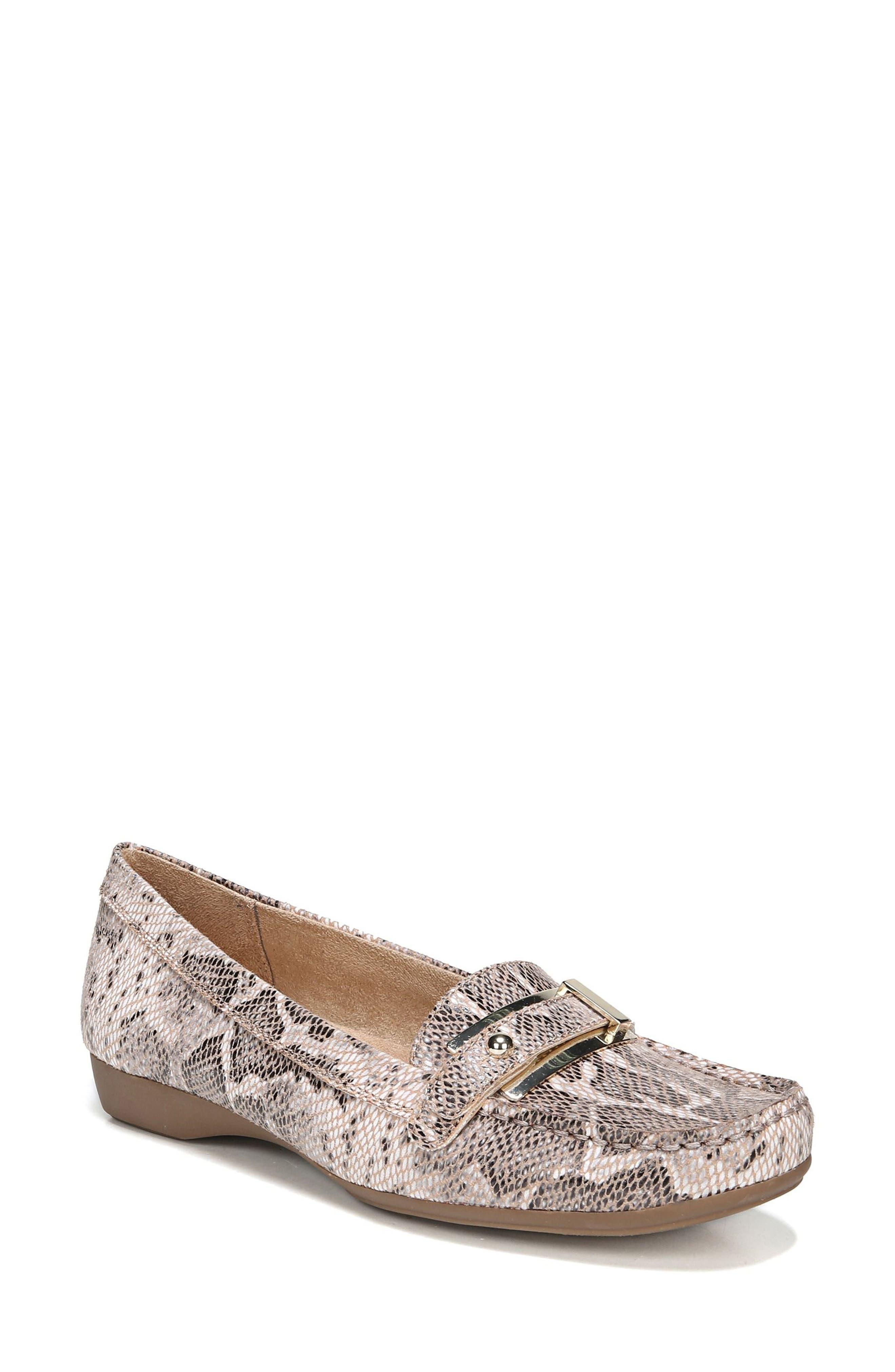 'Gisella' Loafer,                         Main,                         color, Mauve Print Fabric