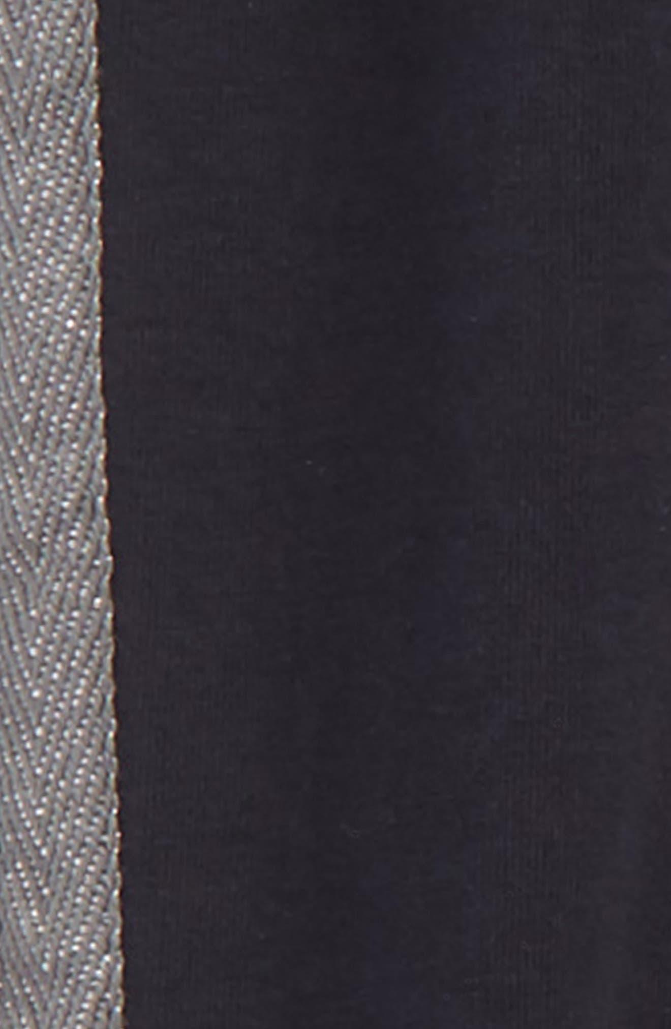 Alternate Image 2  - Tea Collection Tuxedo Stripe Jogger Pants (Toddler Girls, Little Girls & Big Girls)