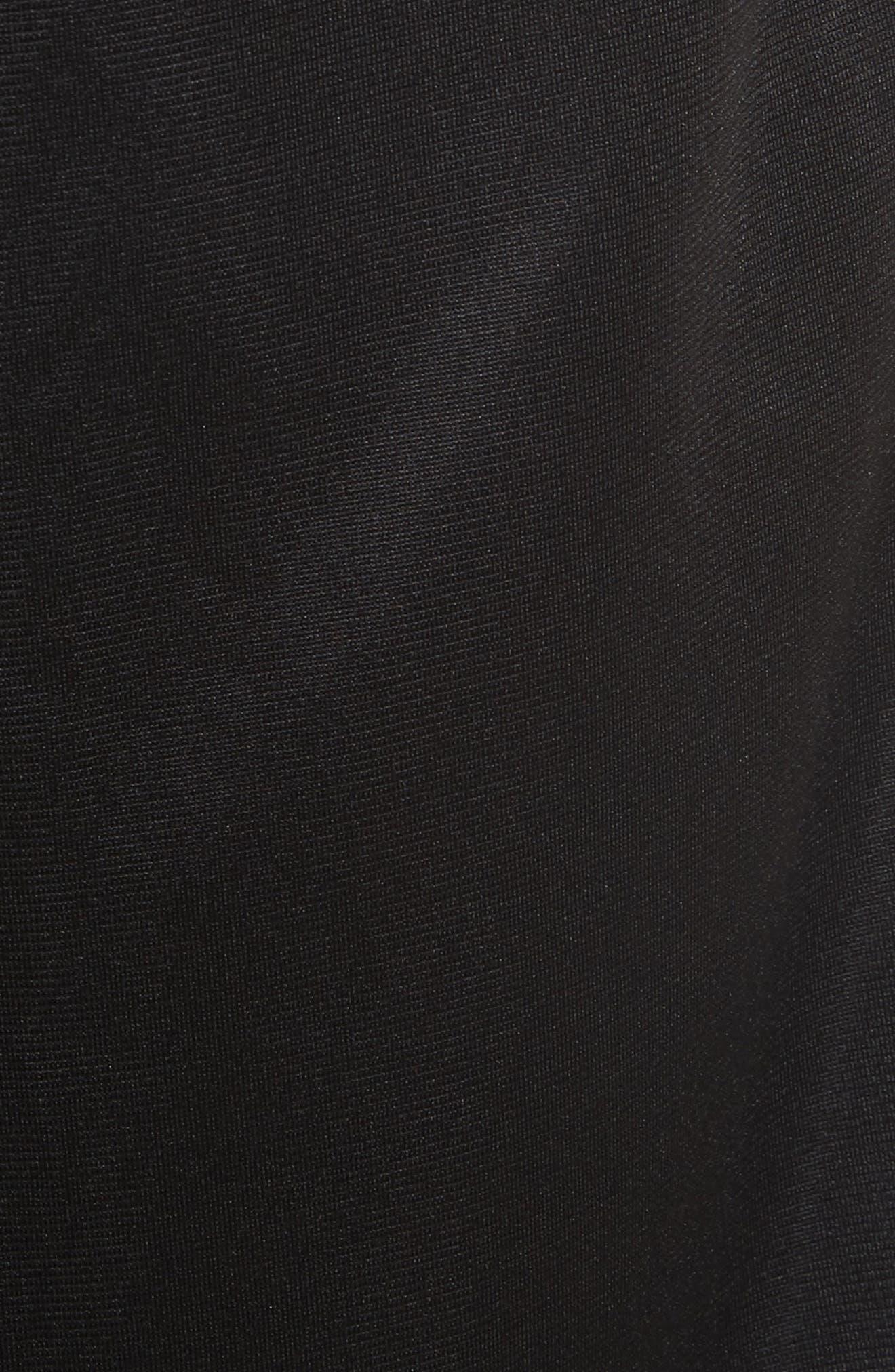 Side Stripe Logo Shorts,                             Alternate thumbnail 5, color,                             Black