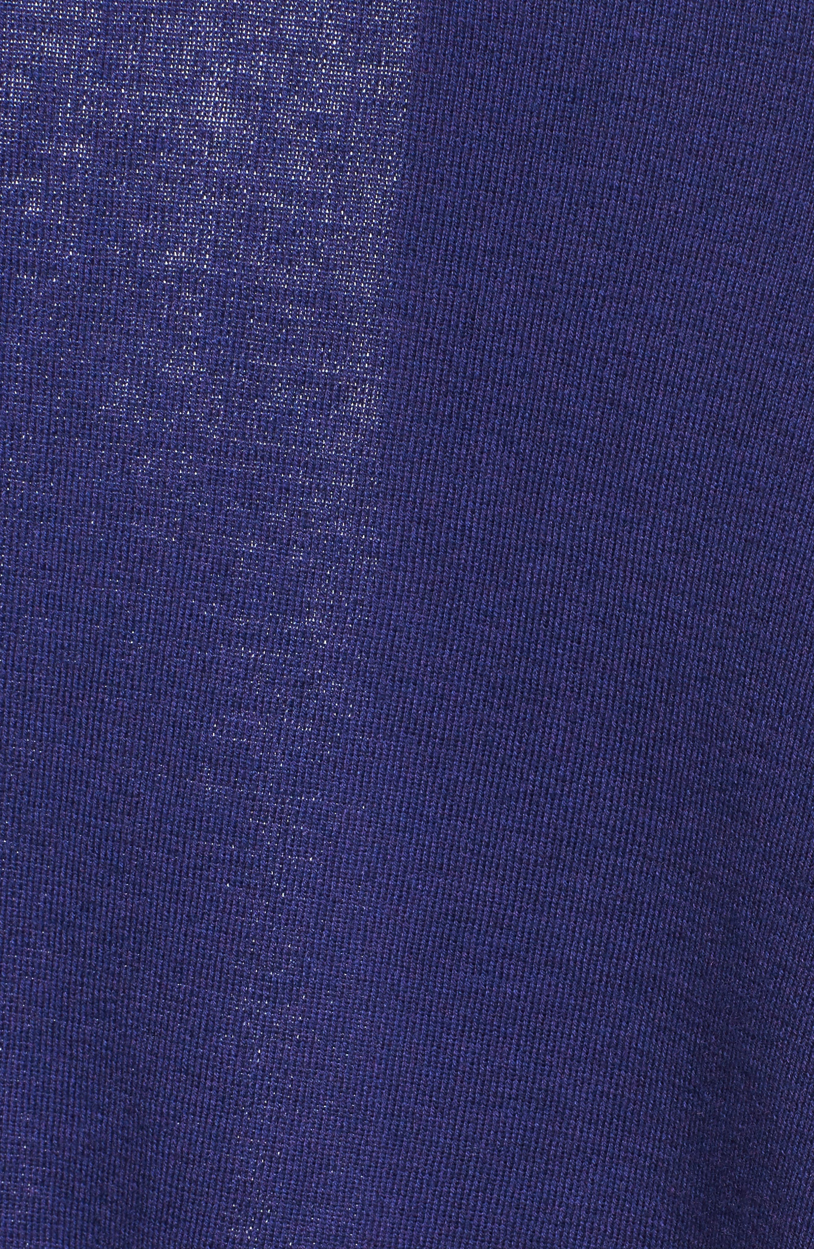 4-Way Convertible Cardigan,                             Alternate thumbnail 5, color,                             Electric Blue