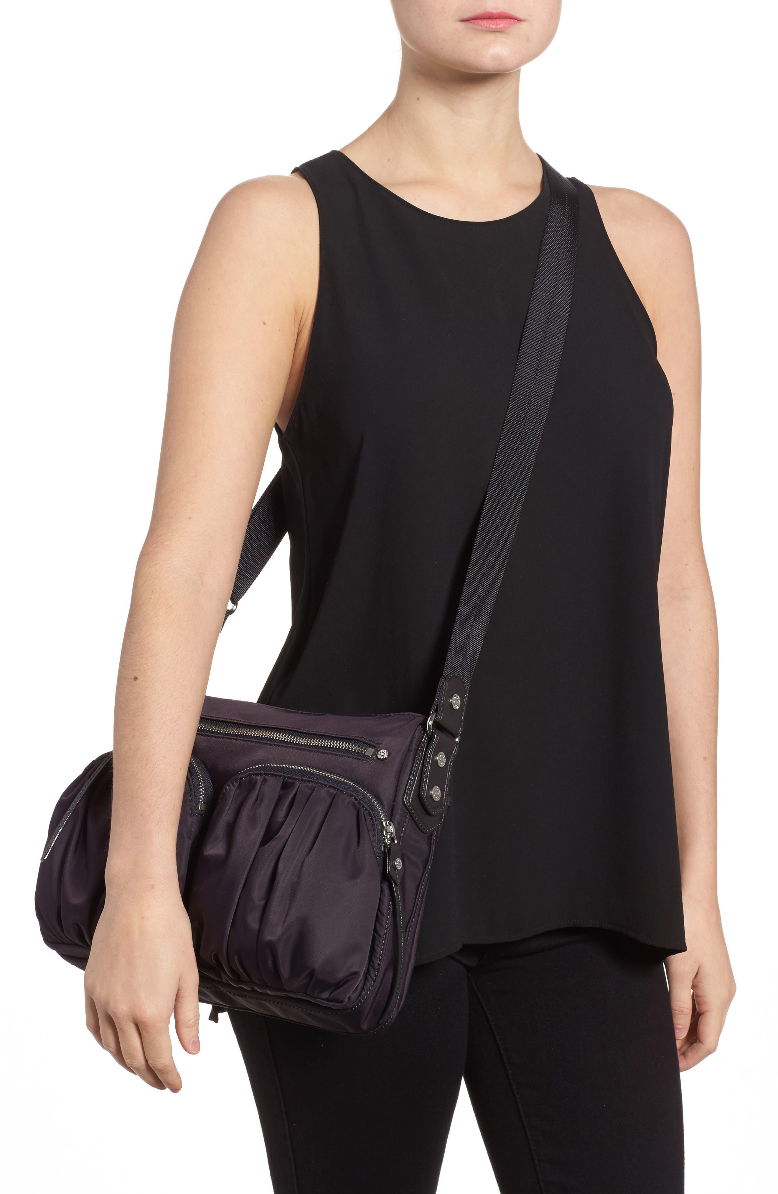 Alternate Image 2  - MZ Wallace 'Paige' Bedford Nylon Crossbody Bag
