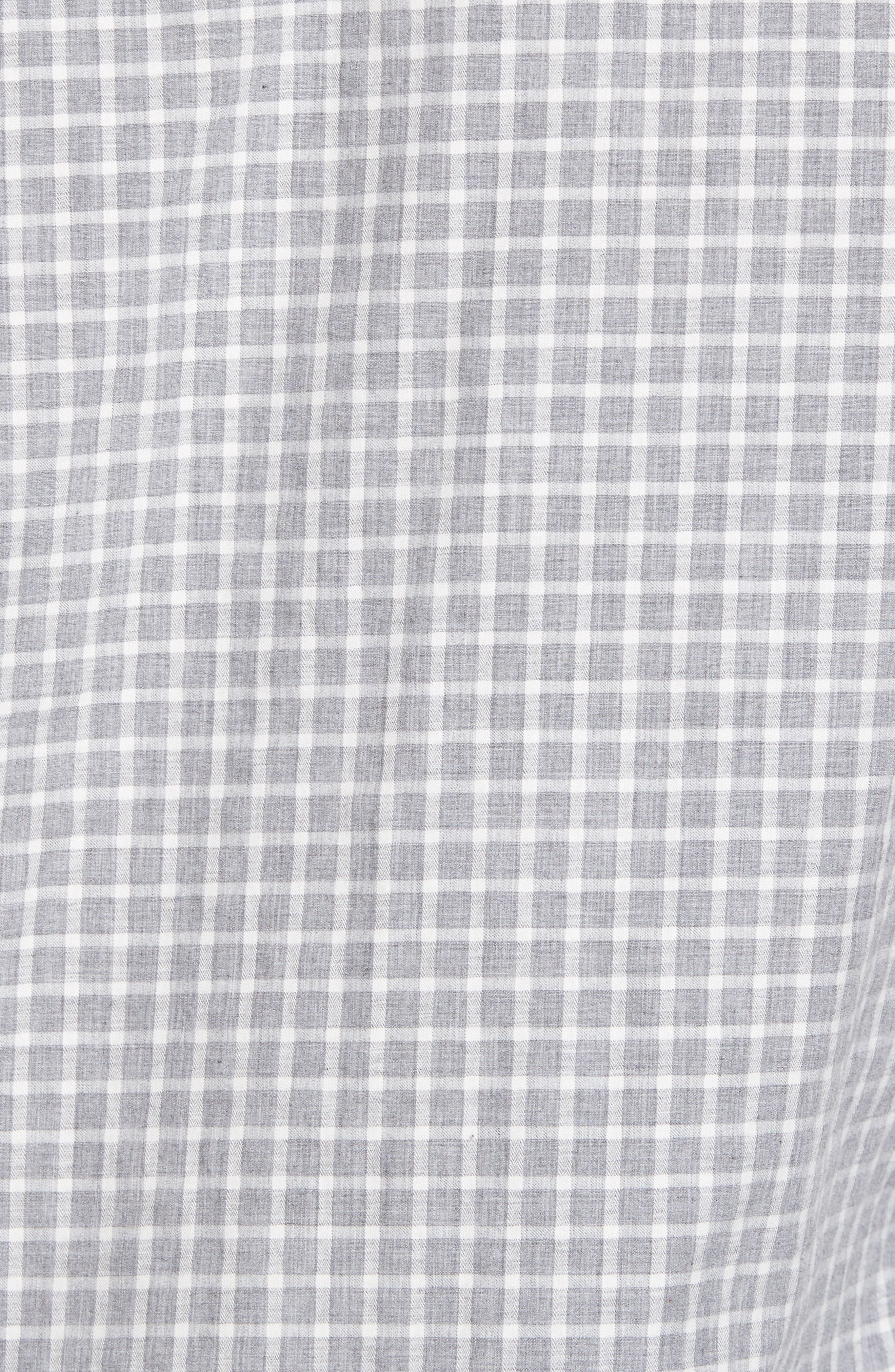 Illusions Woven Shirt,                             Alternate thumbnail 5, color,                             Lt. Grey