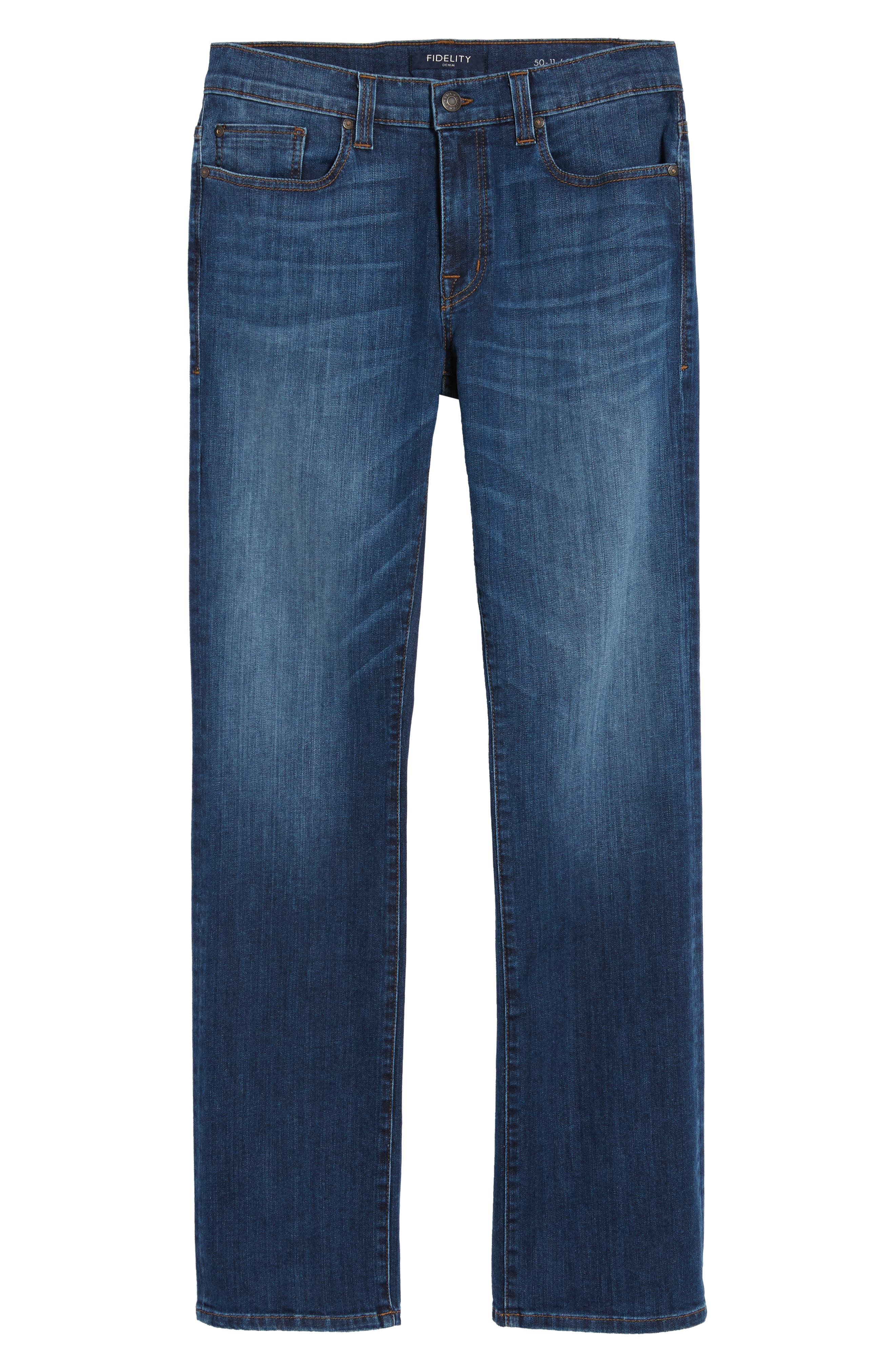 Alternate Image 6  - Fidelity Denim 5011 Relaxed Fit Jeans (Liverpool)