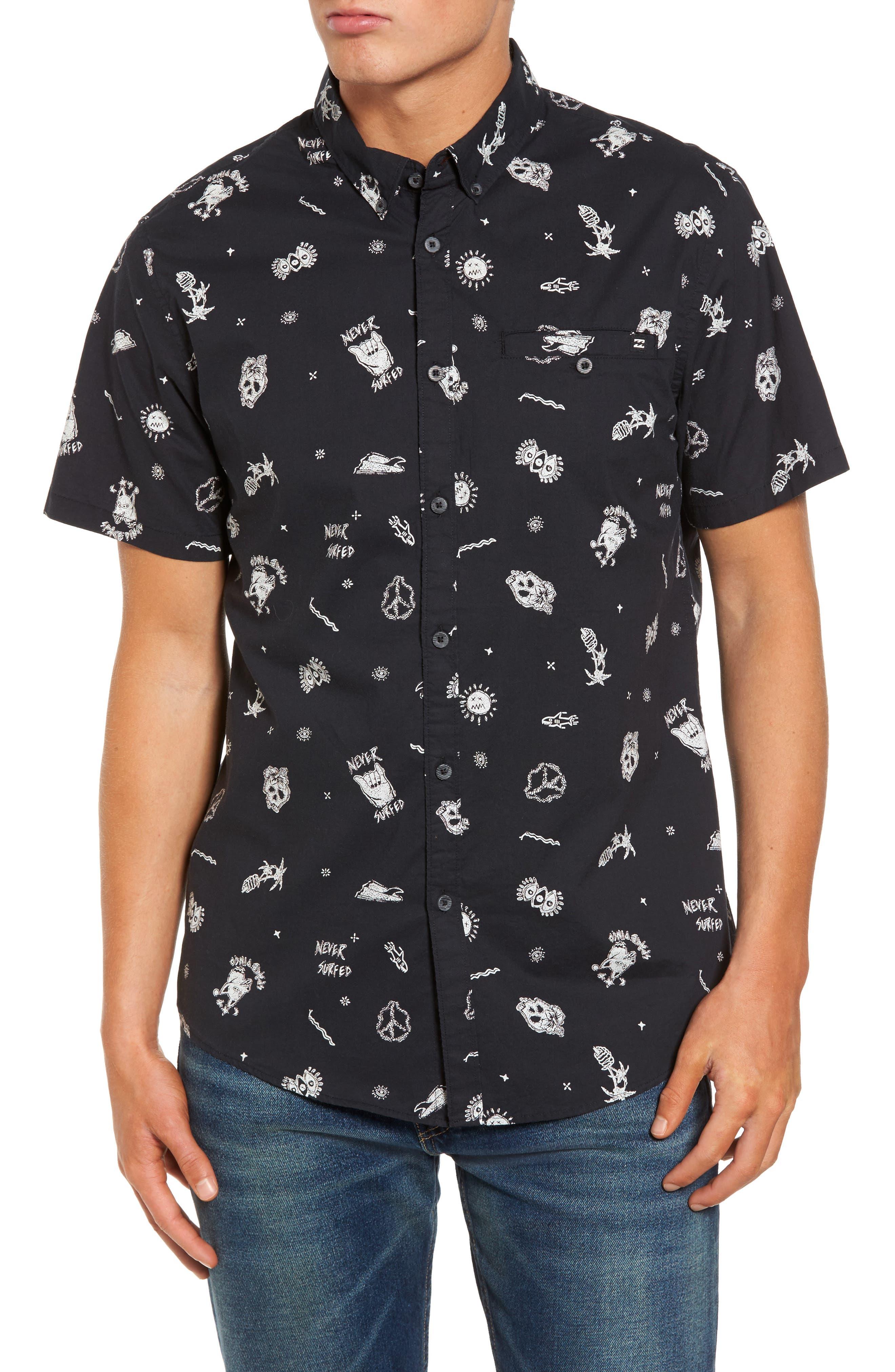 Main Image - Billabong Sunday Woven Shirt
