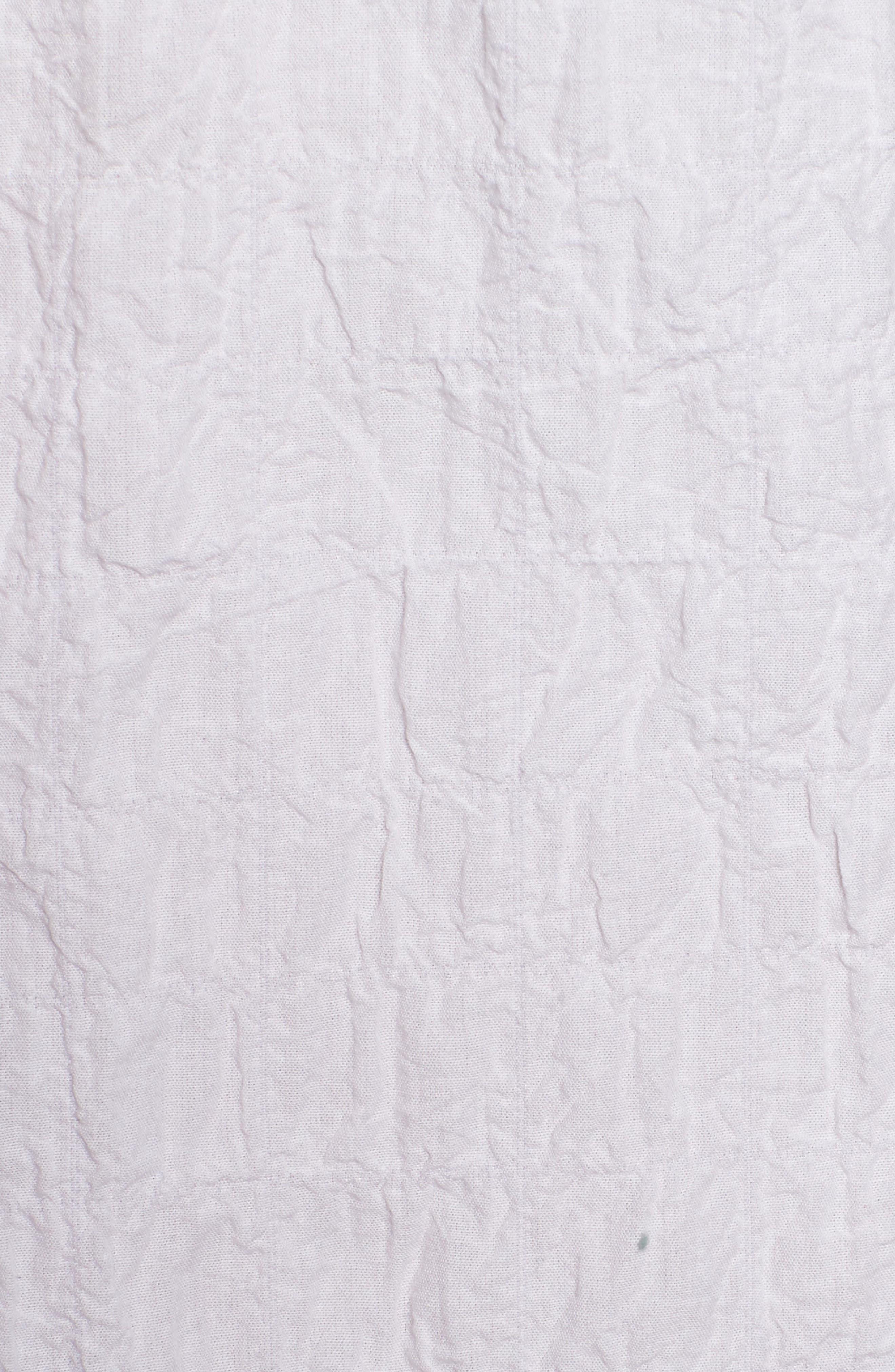 Button Up Shirt,                             Alternate thumbnail 5, color,                             White