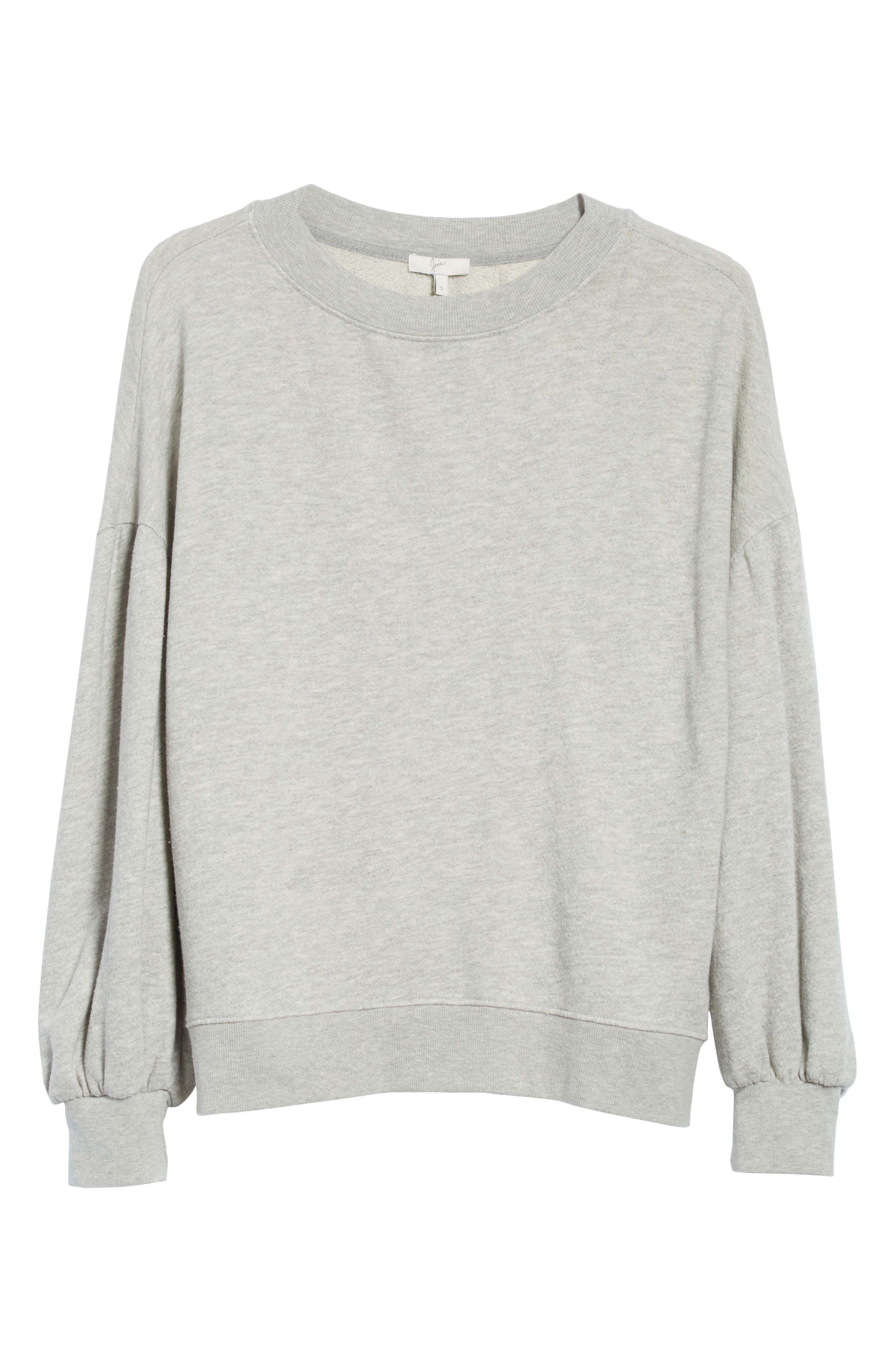 Alternate Image 6  - Joie Isae Bishop Sleeve Sweatshirt