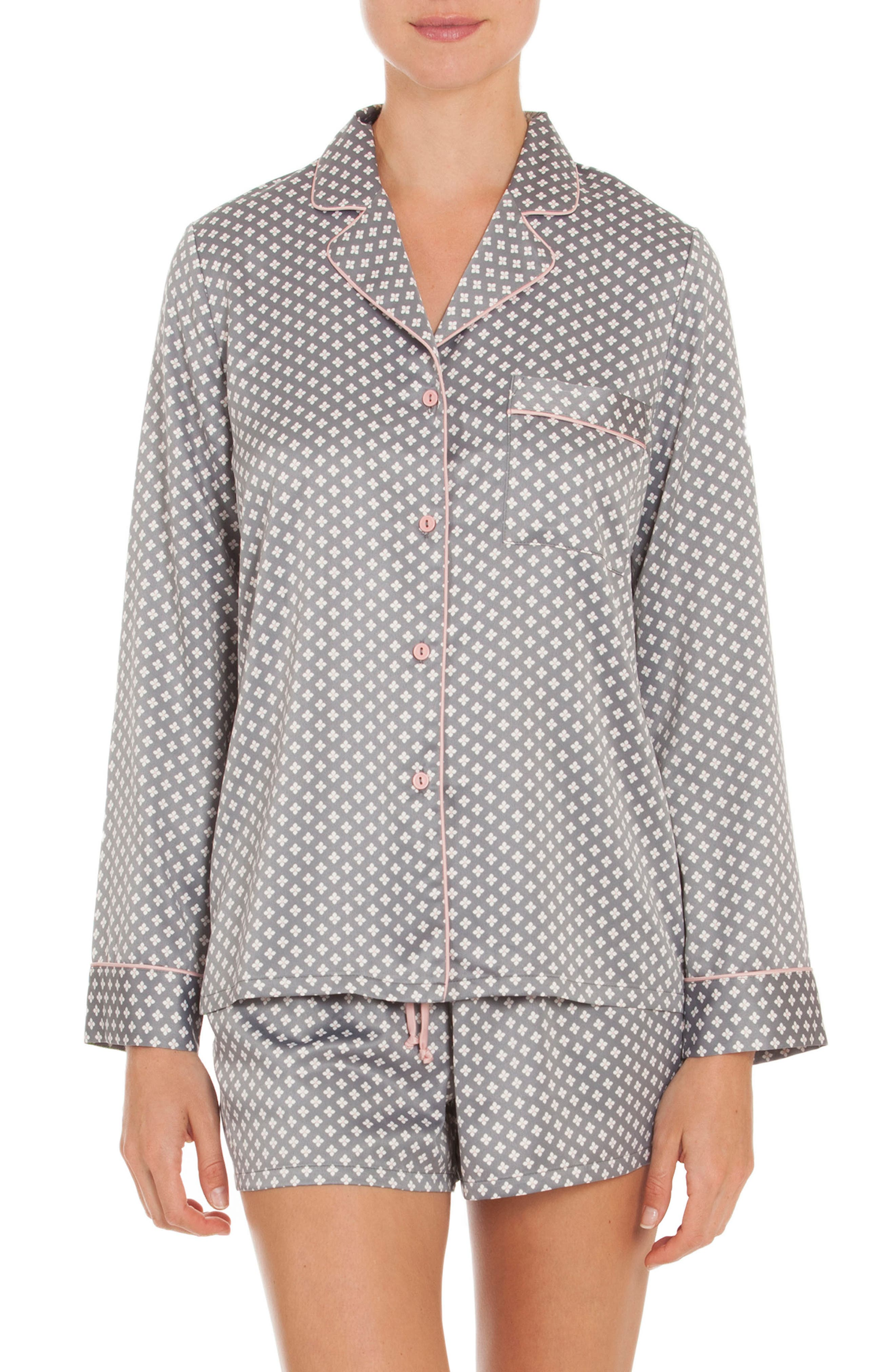 Short Pajamas,                         Main,                         color, Petal Foulard