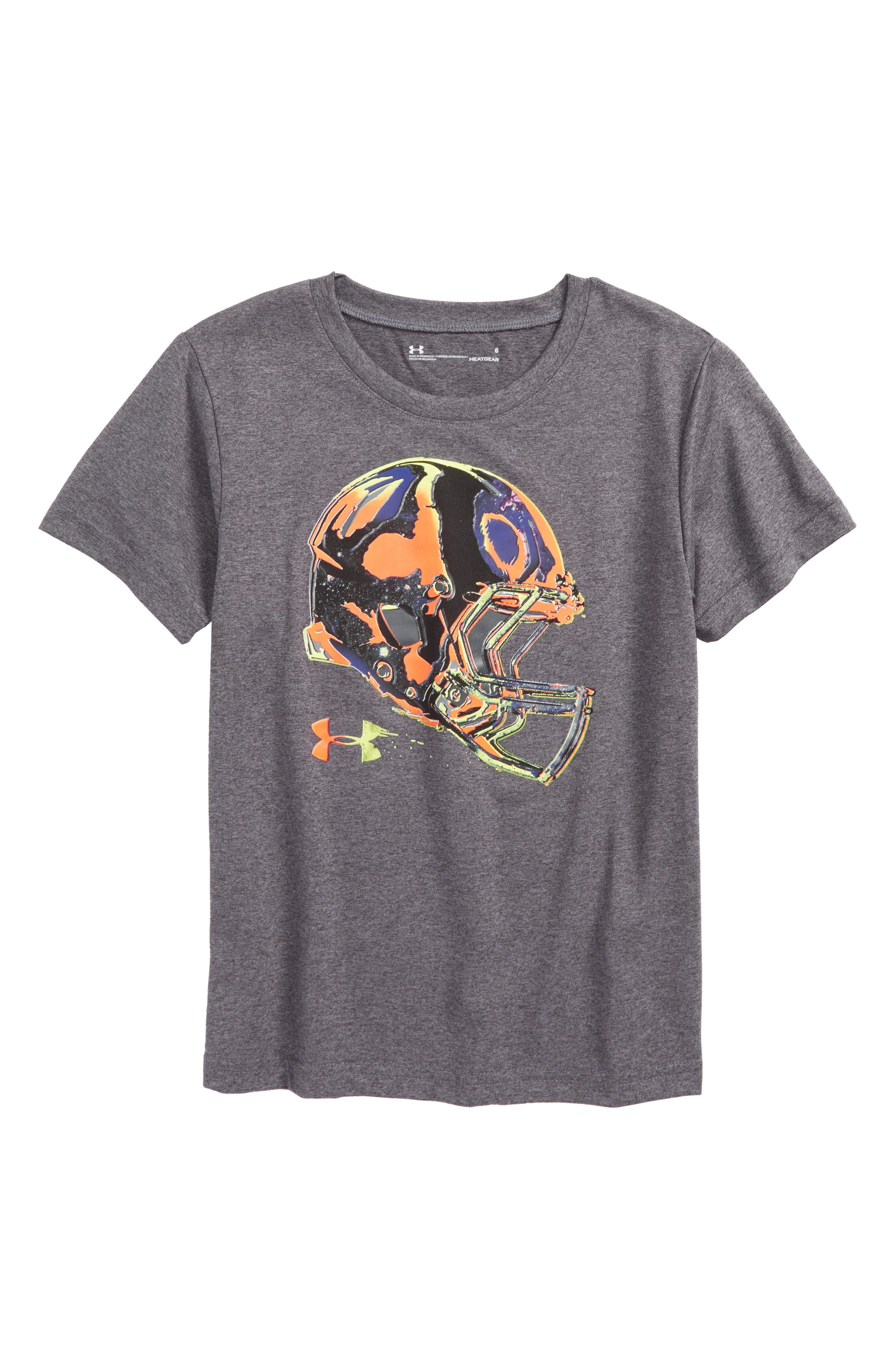 Under Armour Helmet HeatGear® T-Shirt (Toddler Boys & Little Boys)