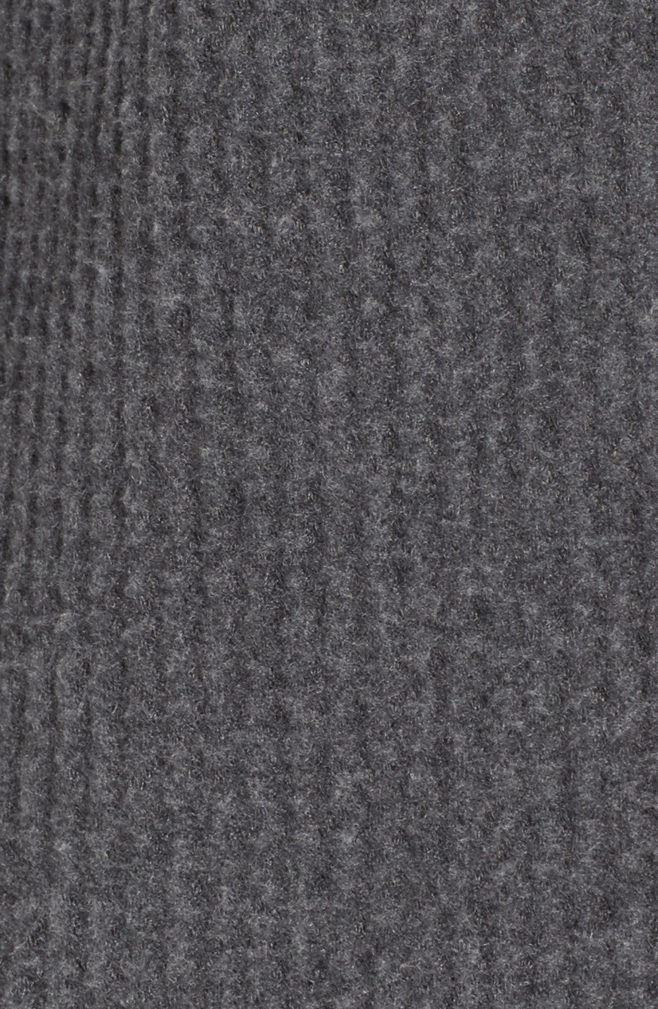 Alternate Image 5  - Socialite Cowl Neck Waffle Knit Top
