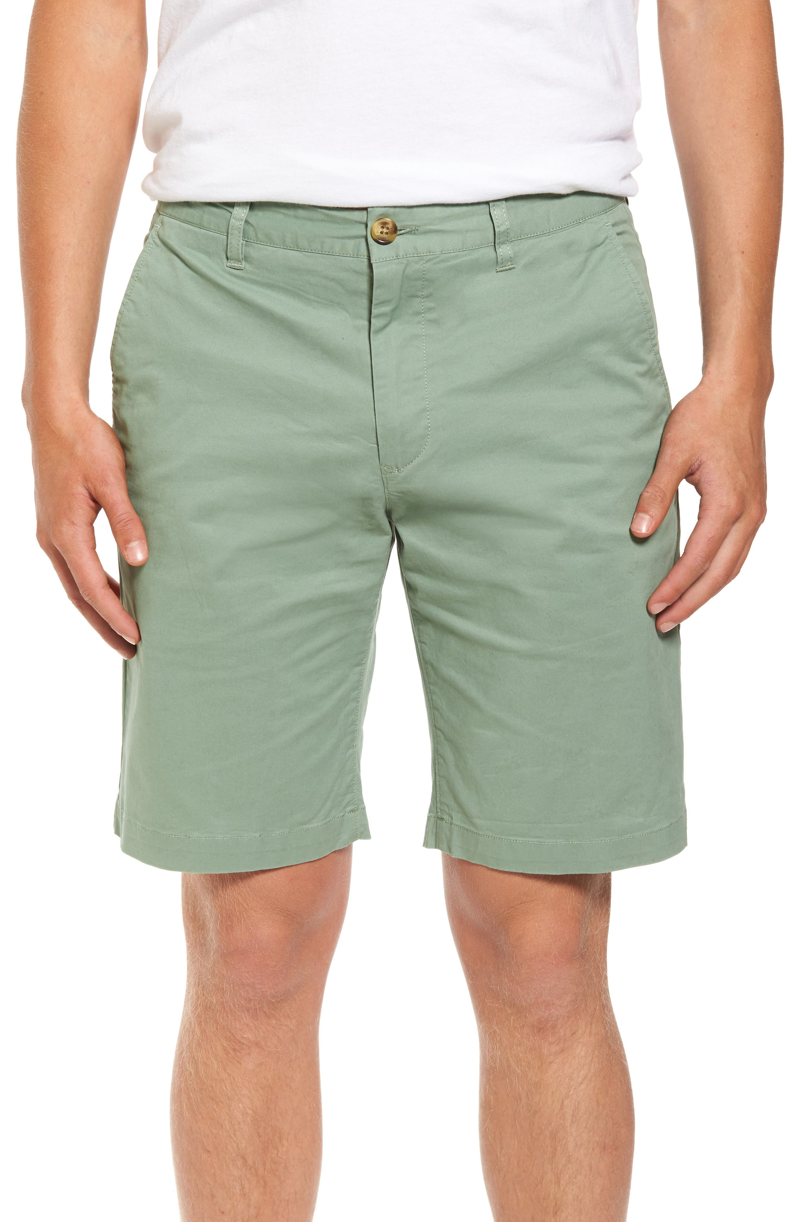 7 Diamonds Slim Fit Brushed Twill Shorts