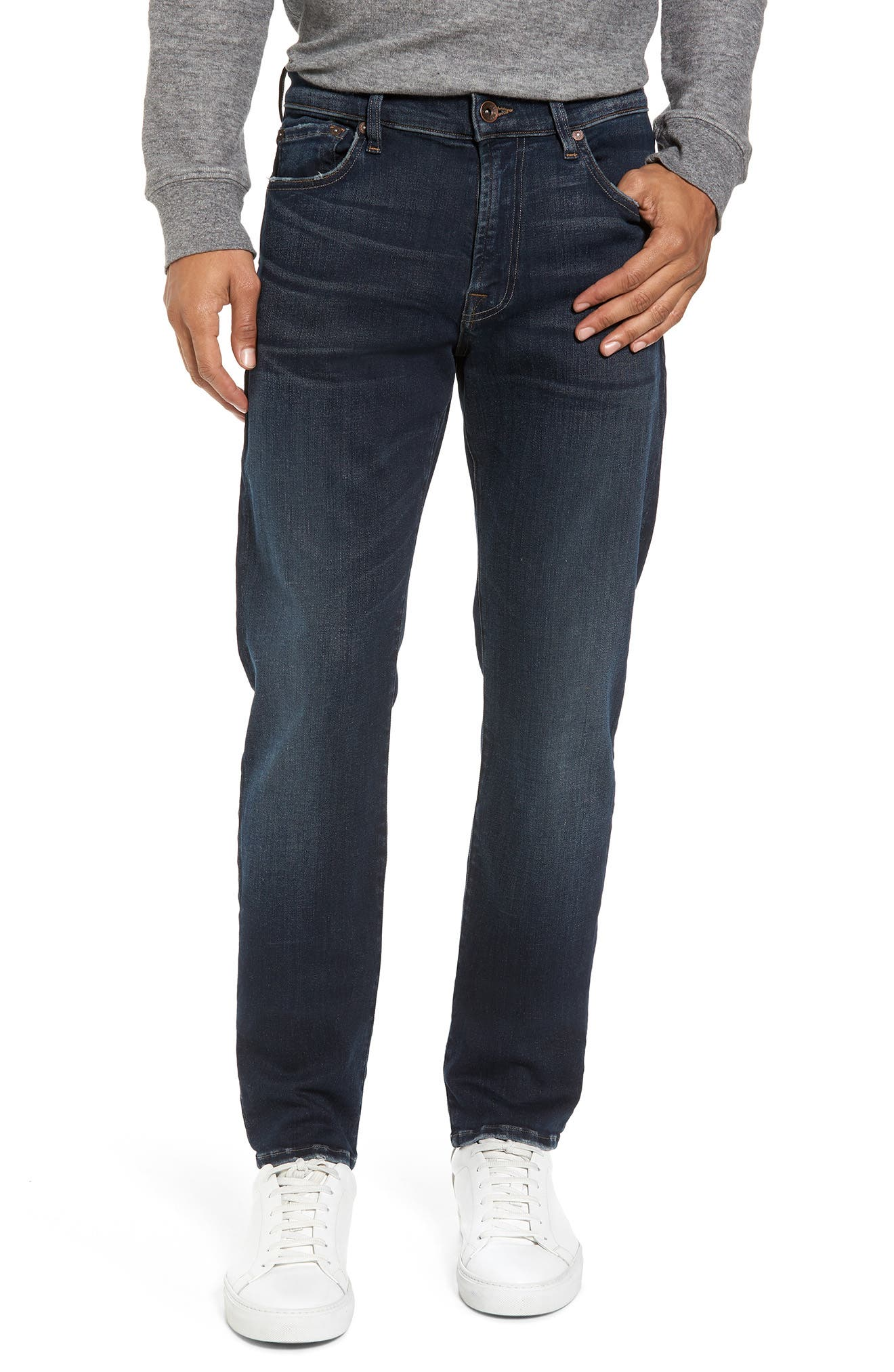 Alternate Image 1 Selected - 7 For All Mankind® Adrien Slim Fit Jeans (Authentic Reform)