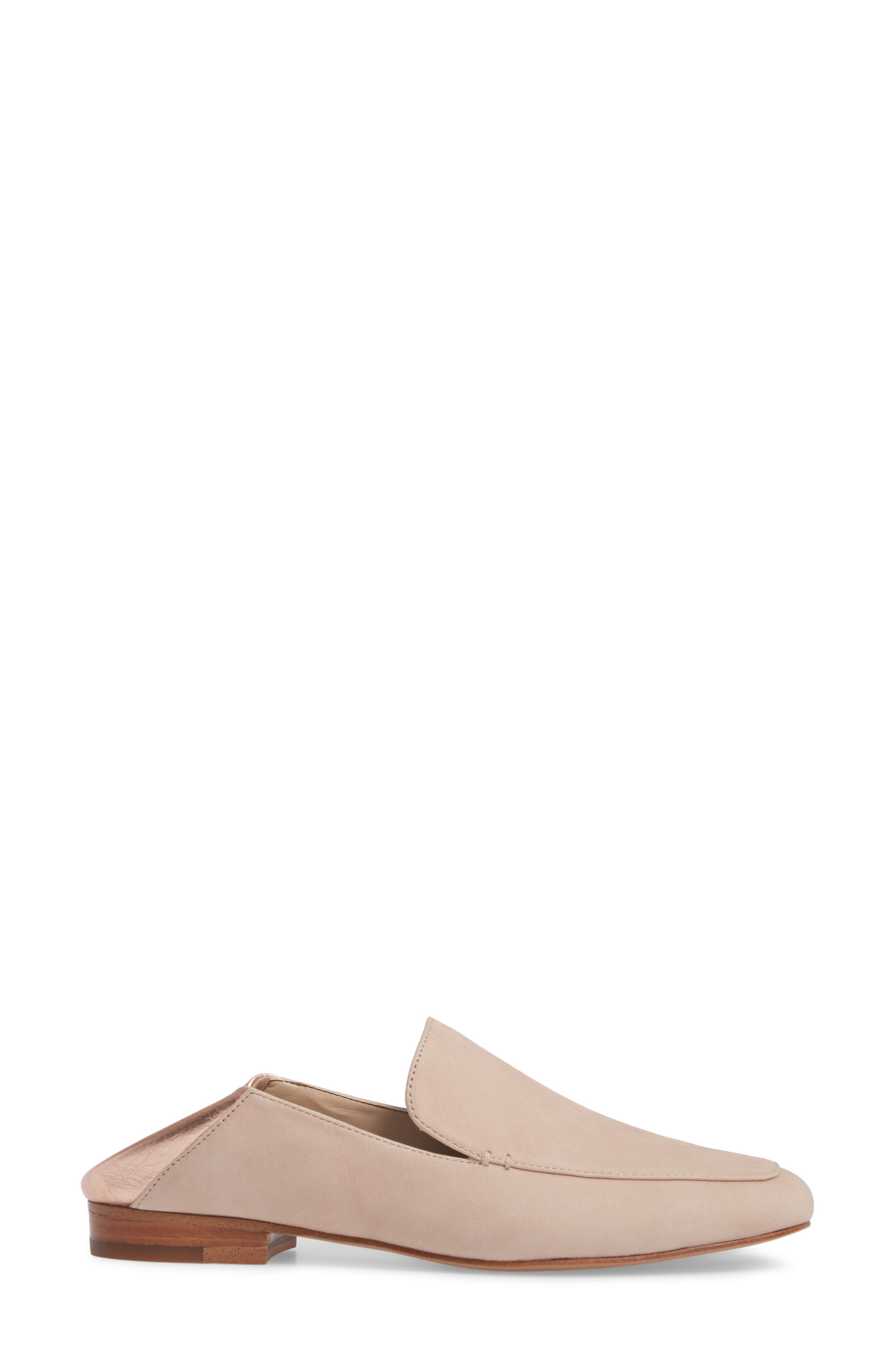 Faun Drop Heel Loafer,                             Alternate thumbnail 3, color,                             Cipria Leather