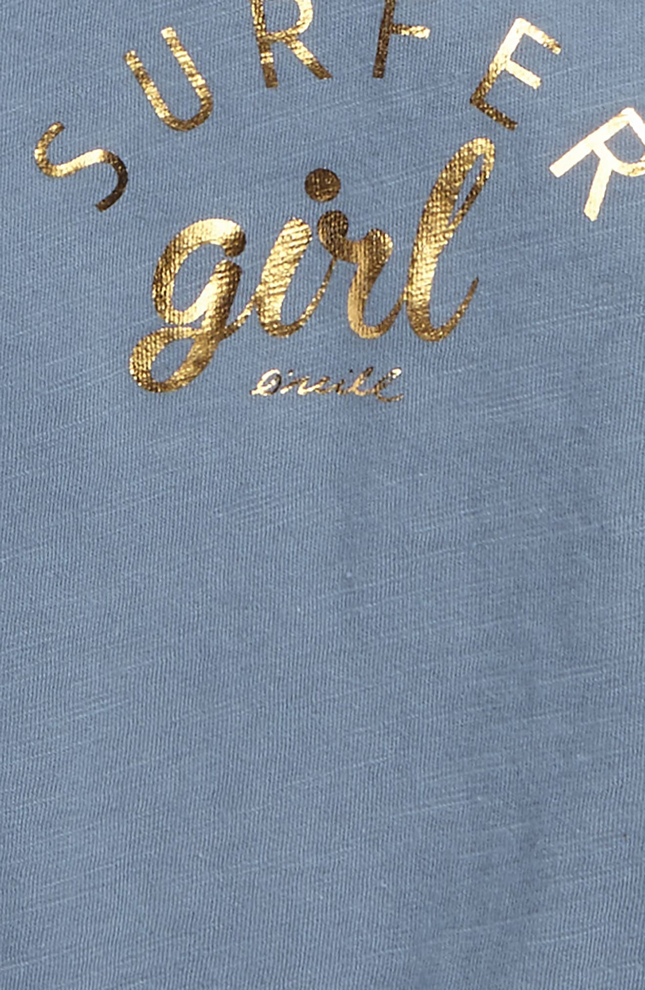 Alternate Image 3  - O'Neill Surfer Girl Graphic Tank (Big Girls)
