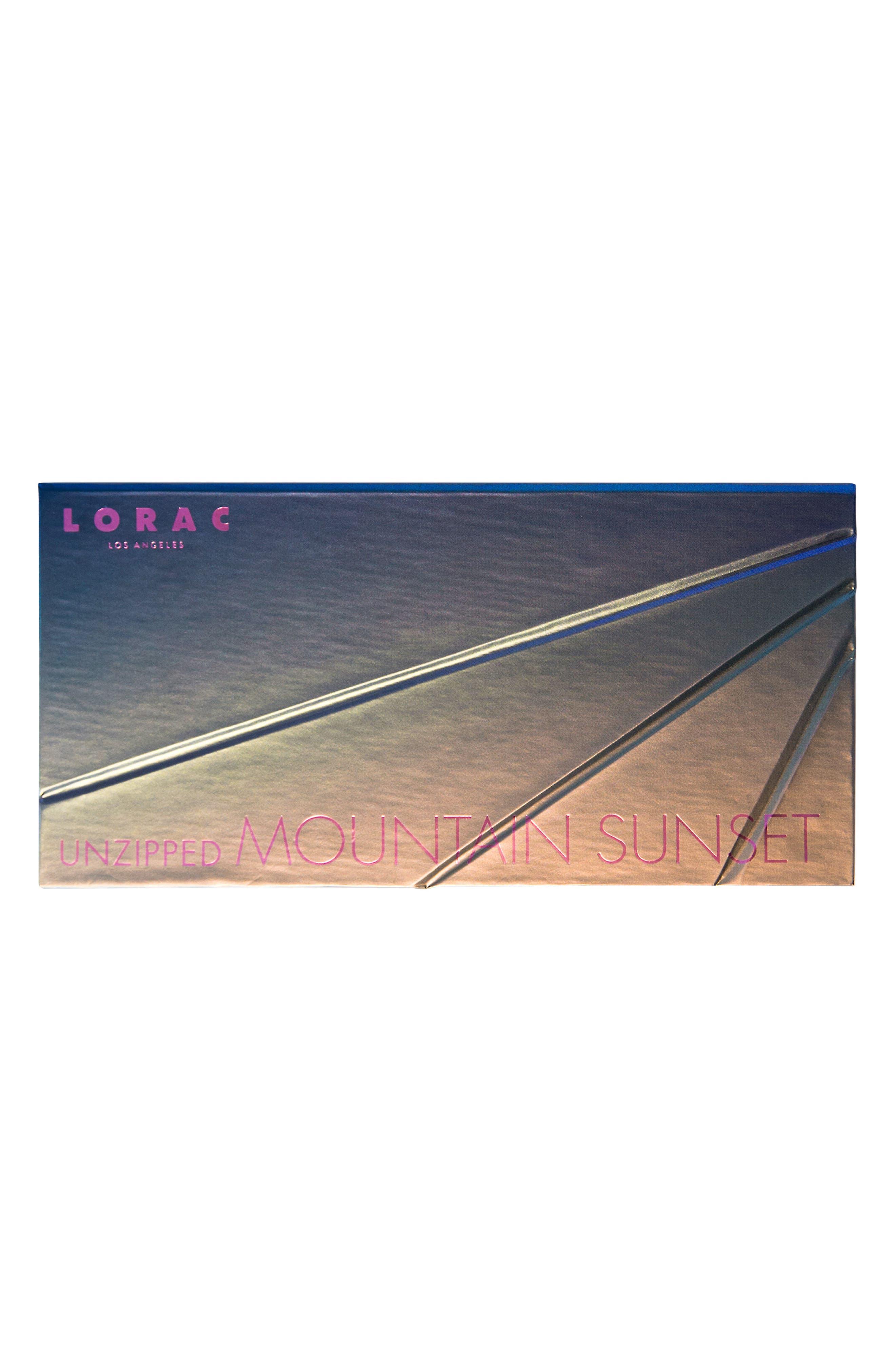 Alternate Image 3  - LORAC Unzipped Mountain Sunset Eyeshadow Palette (Limited Edition)