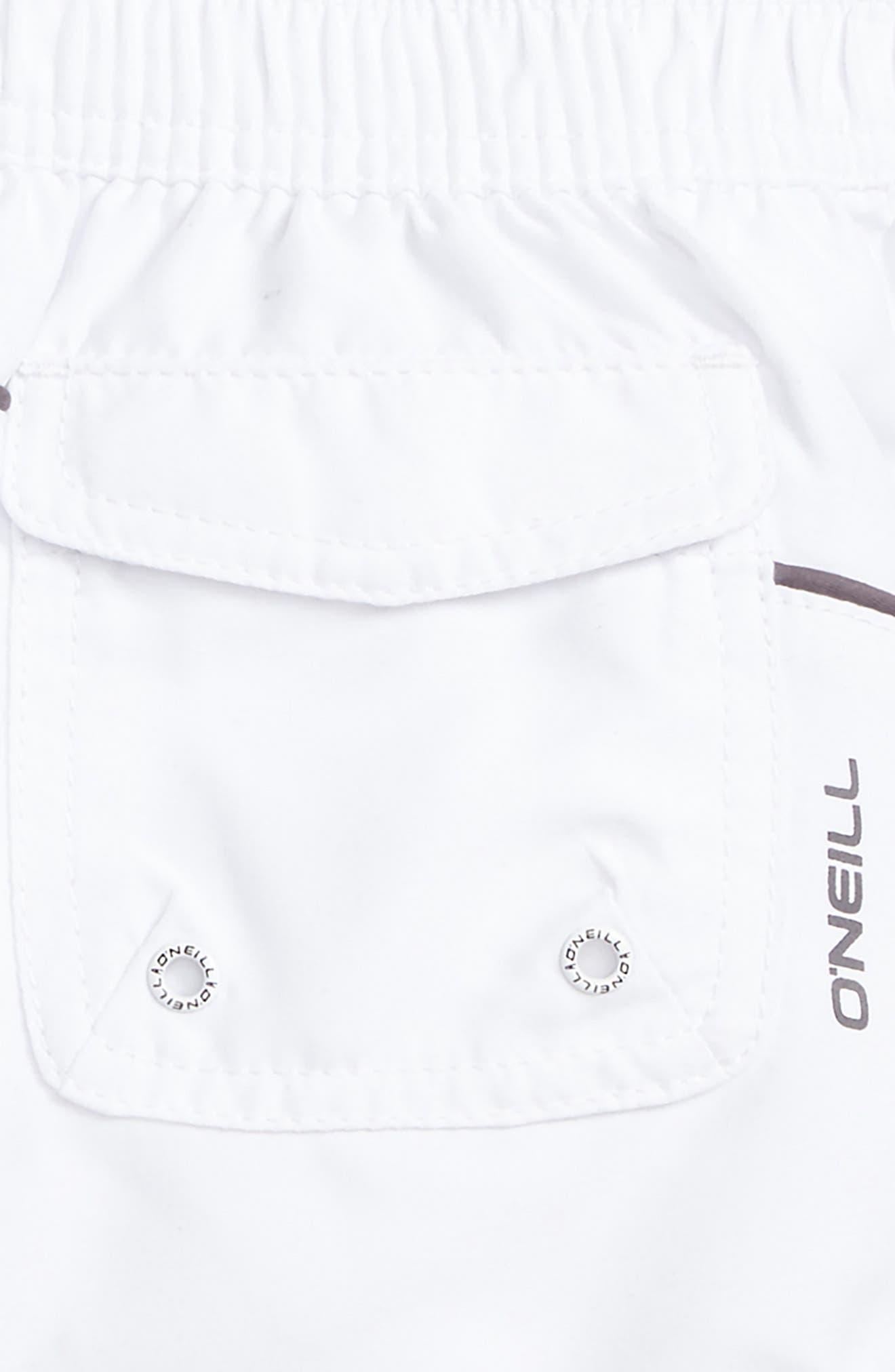 Alternate Image 3  - O'Neill Salt Water Board Shorts (Big Girls)