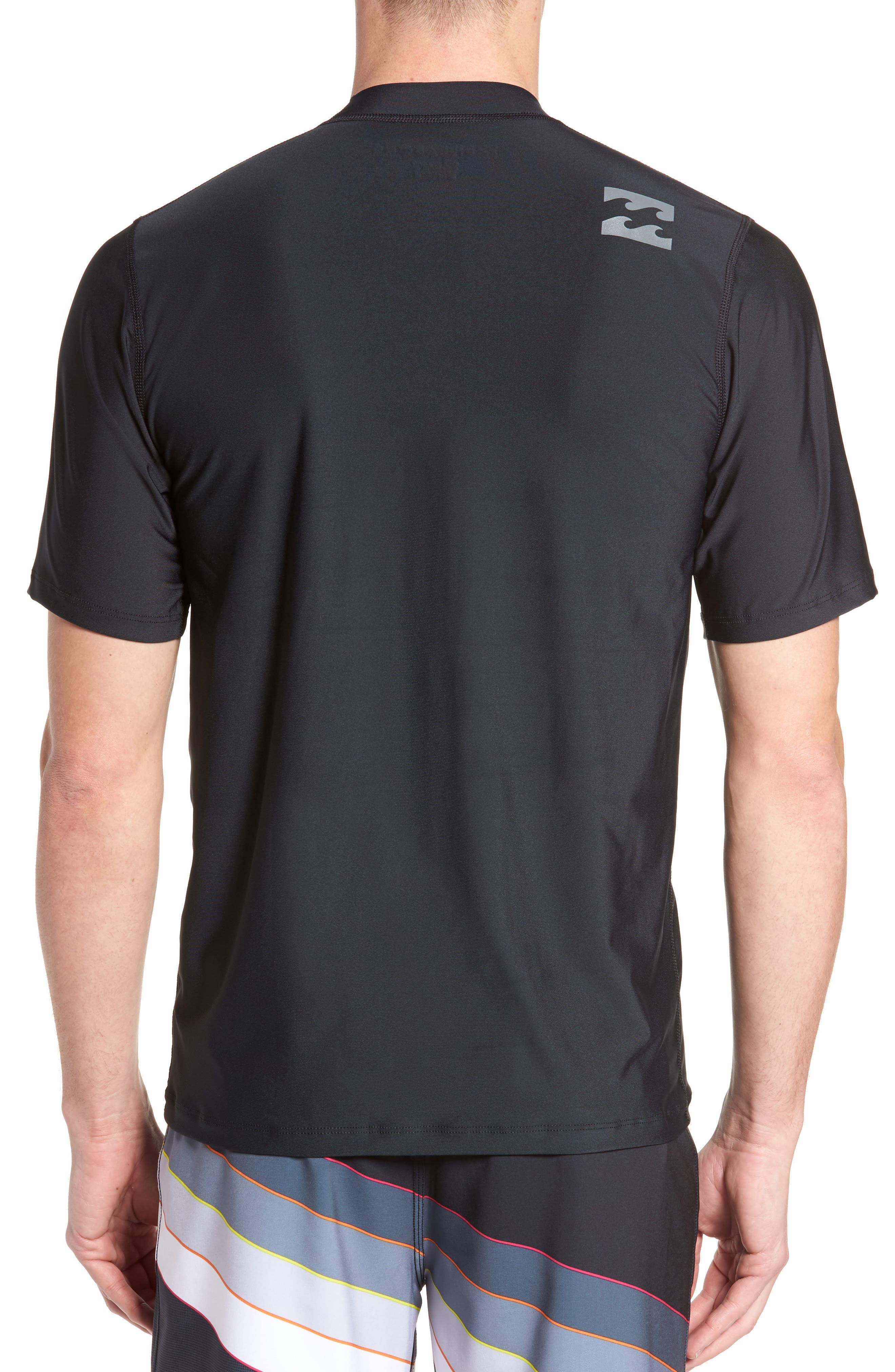 All Day Wave Wet Shirt,                             Alternate thumbnail 2, color,                             Black