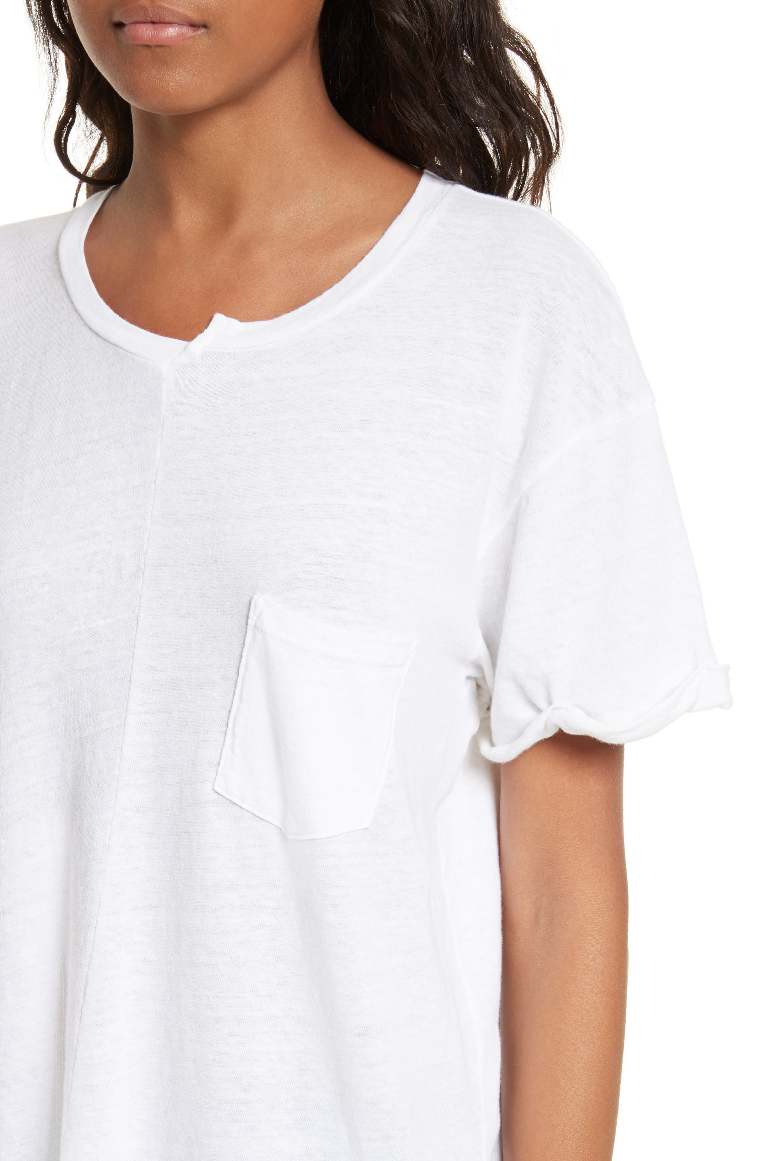 Le Mix Tee,                             Alternate thumbnail 4, color,                             Vintage Blanc