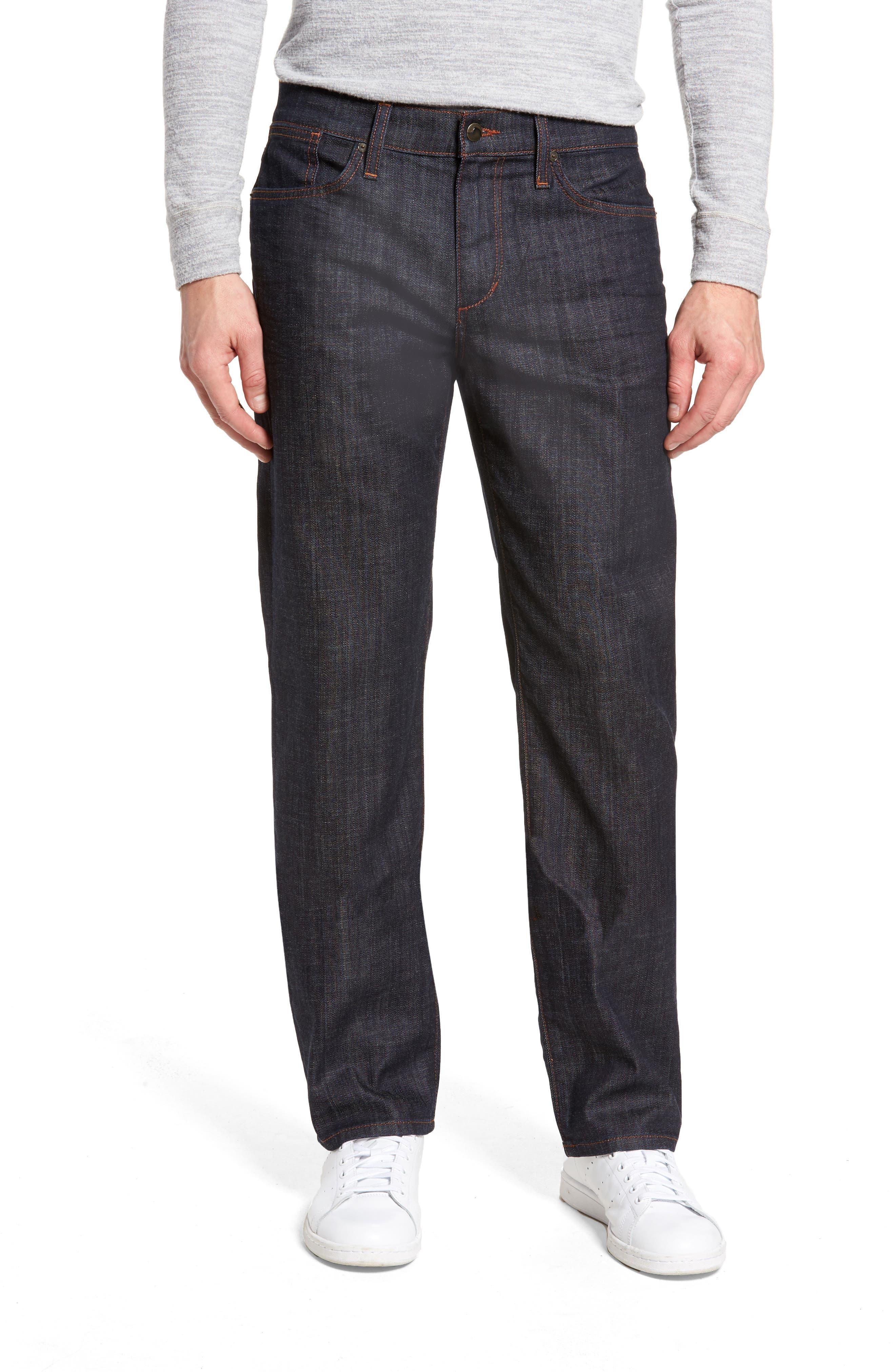 Classic Straight Leg Jeans,                             Main thumbnail 1, color,                             Dakota