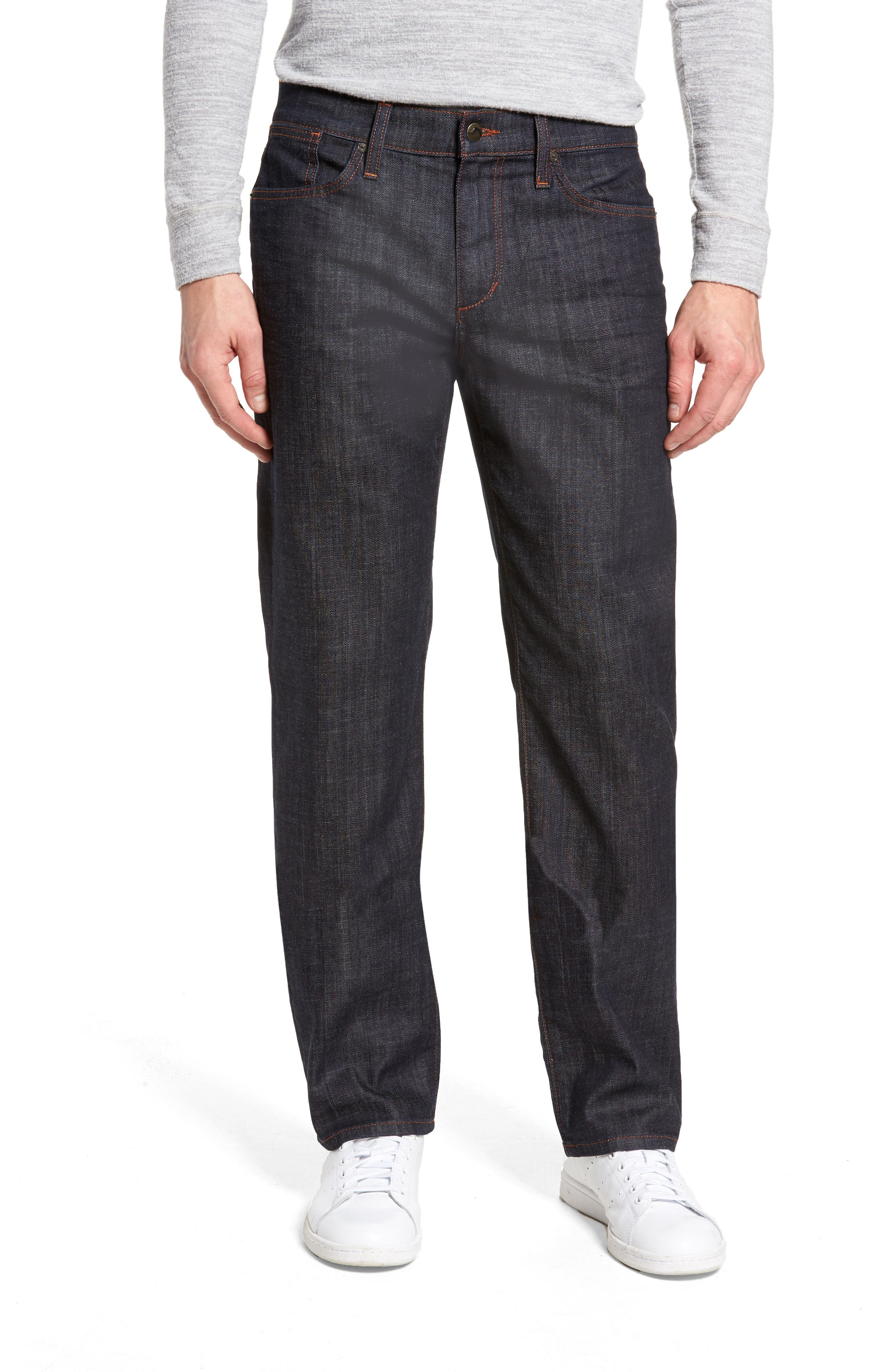 Classic Straight Leg Jeans,                         Main,                         color, Dakota