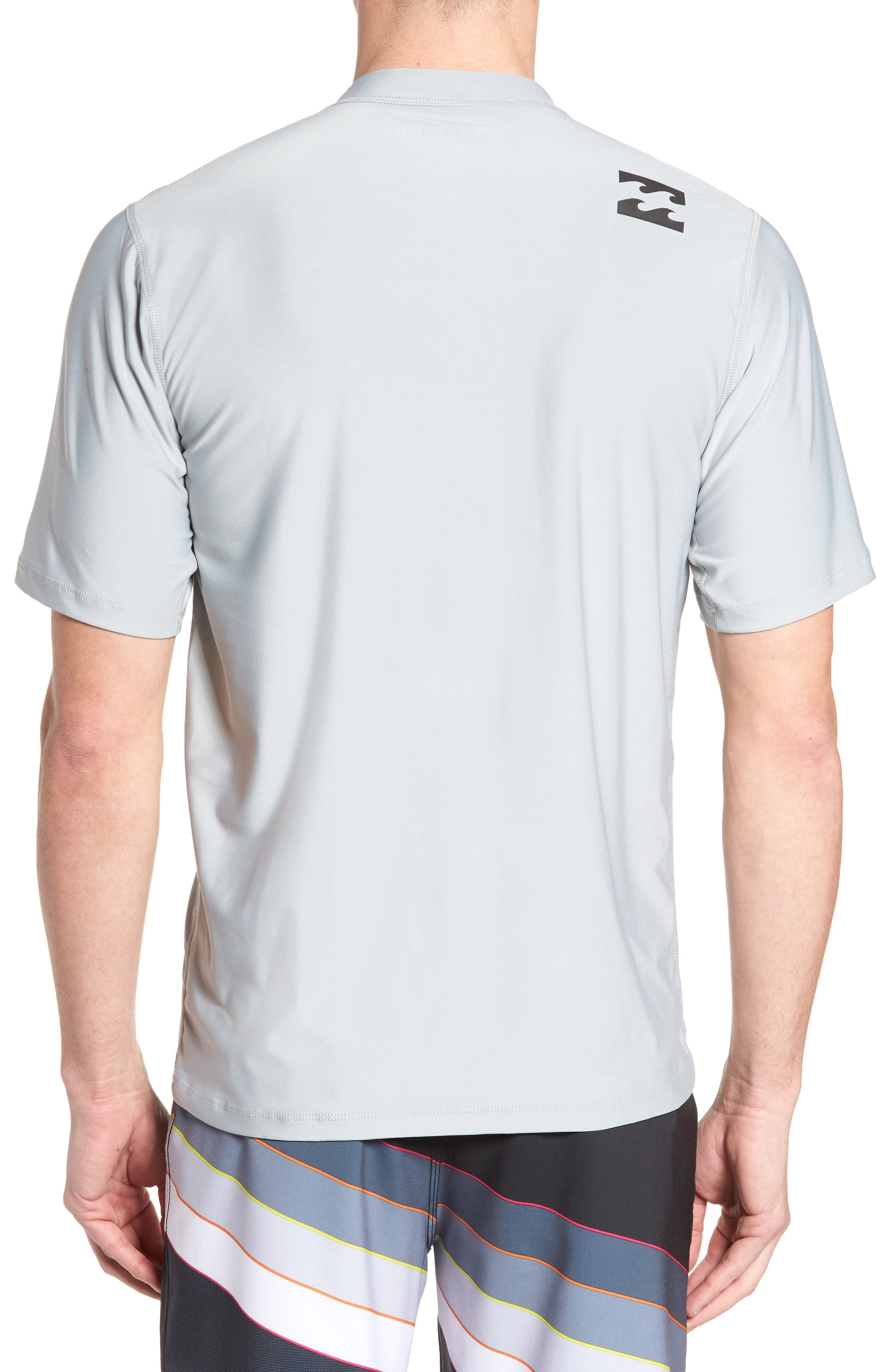 All Day Wave Wet Shirt,                             Alternate thumbnail 2, color,                             Silver