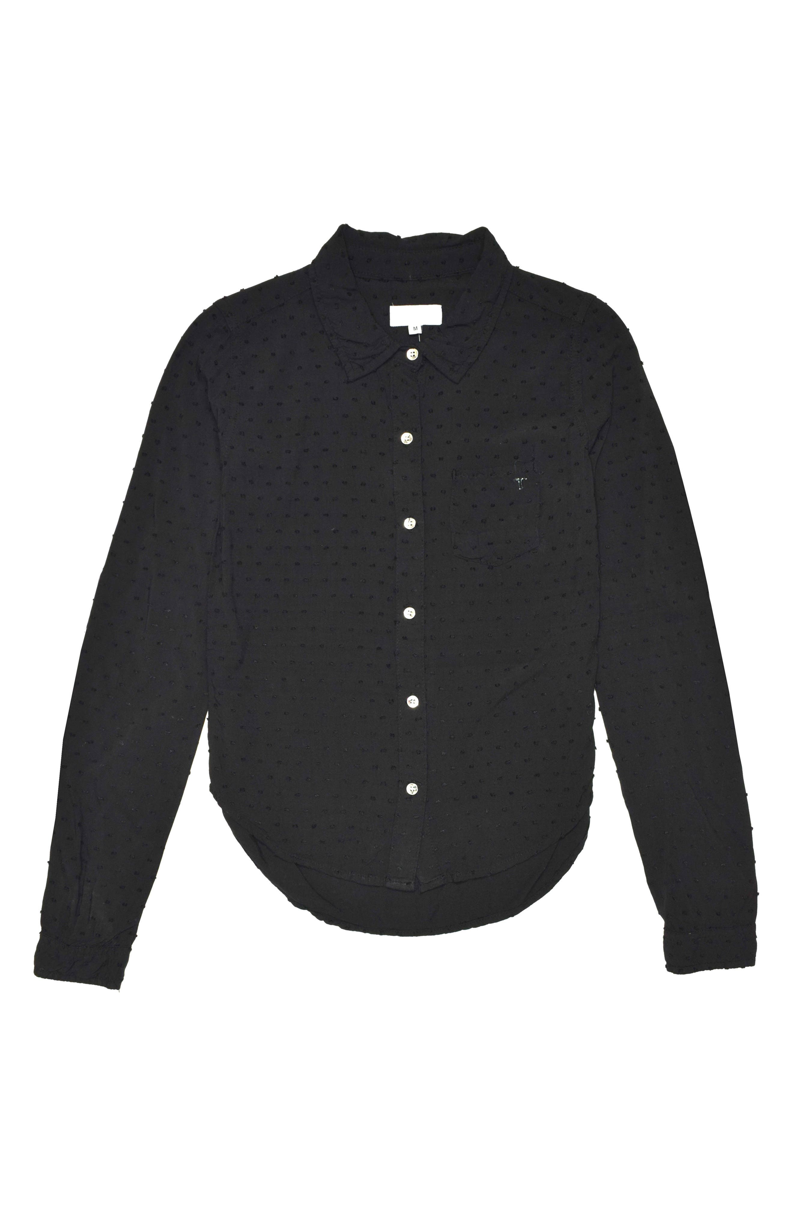 Tractr Swiss Dot Shirt (Big Girls)