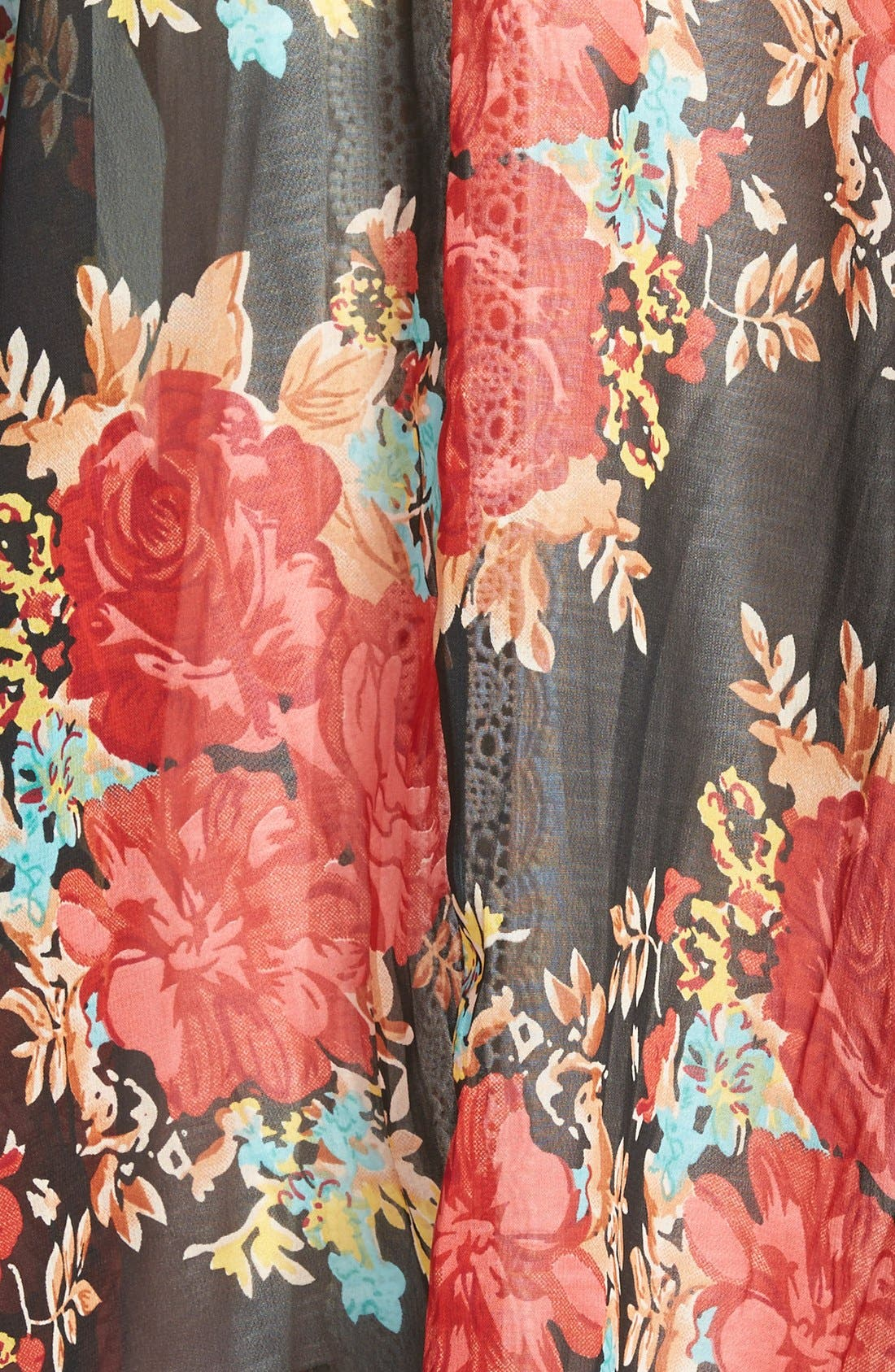 Alternate Image 3  - Band of Gypsies Mix Print Kimono