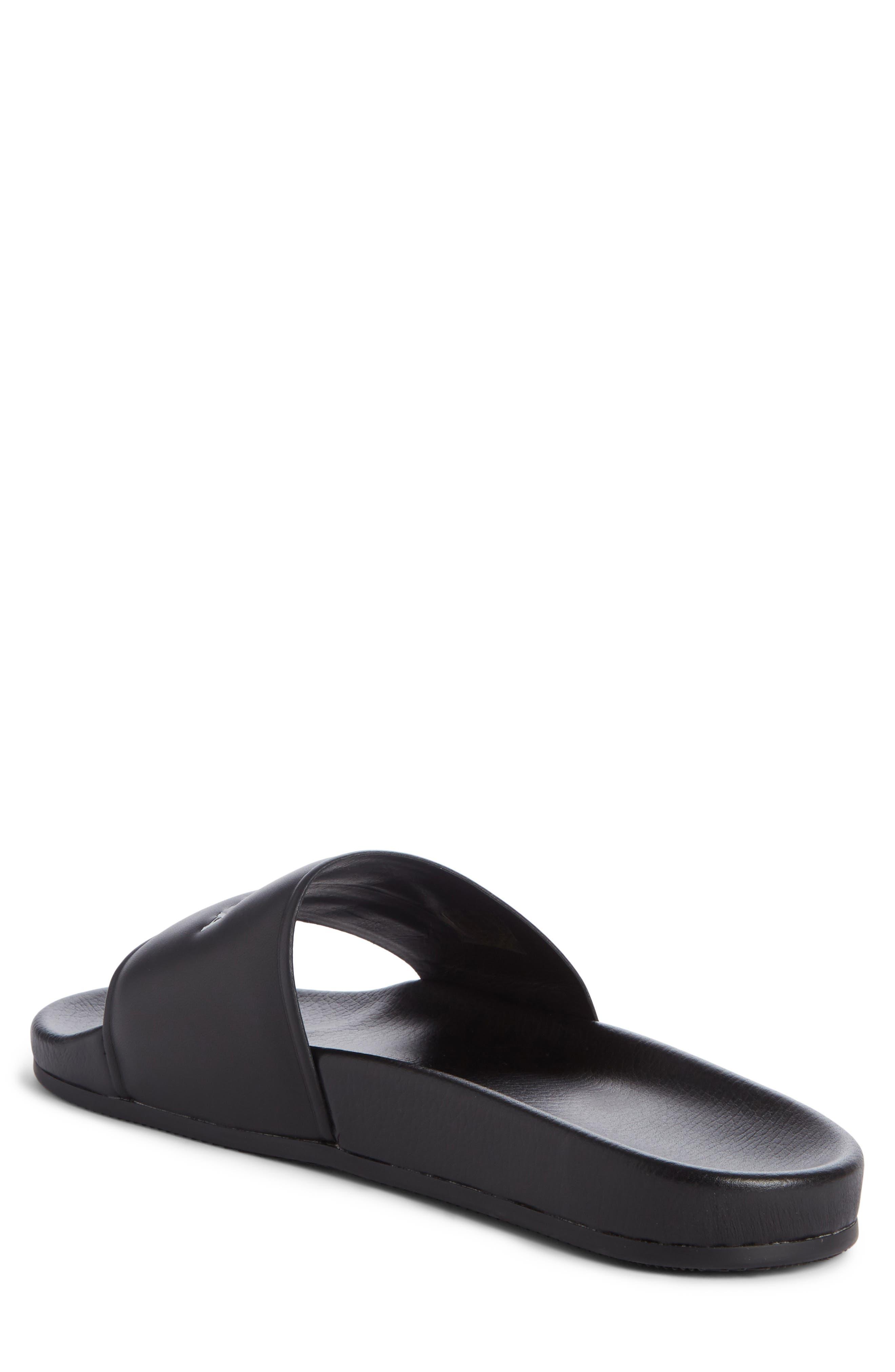 Alternate Image 2  - Balenciaga Logo Slide Sandal (Men)