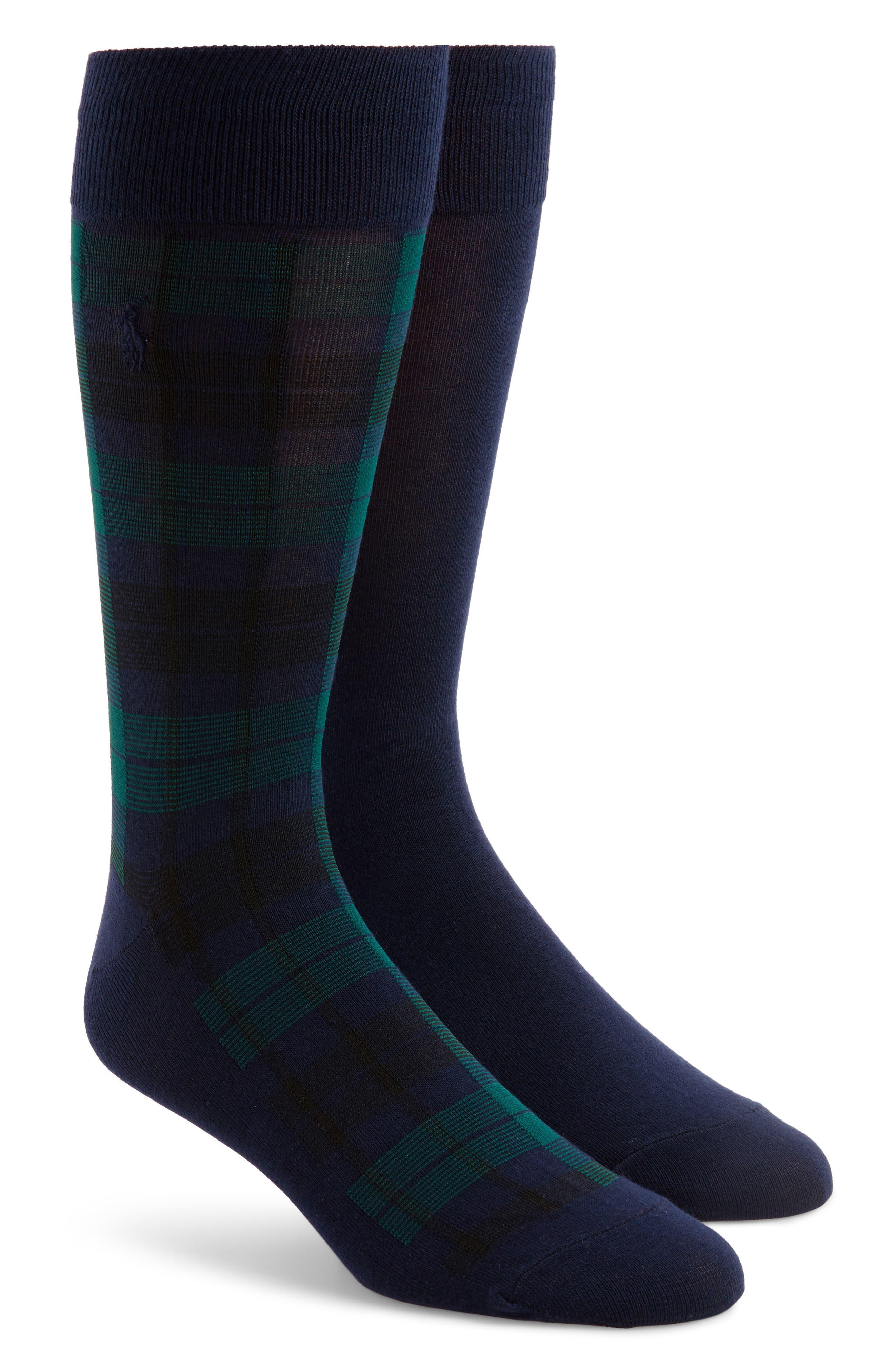 Polo Ralph Lauren 2-Pack Tartan Plaid Socks