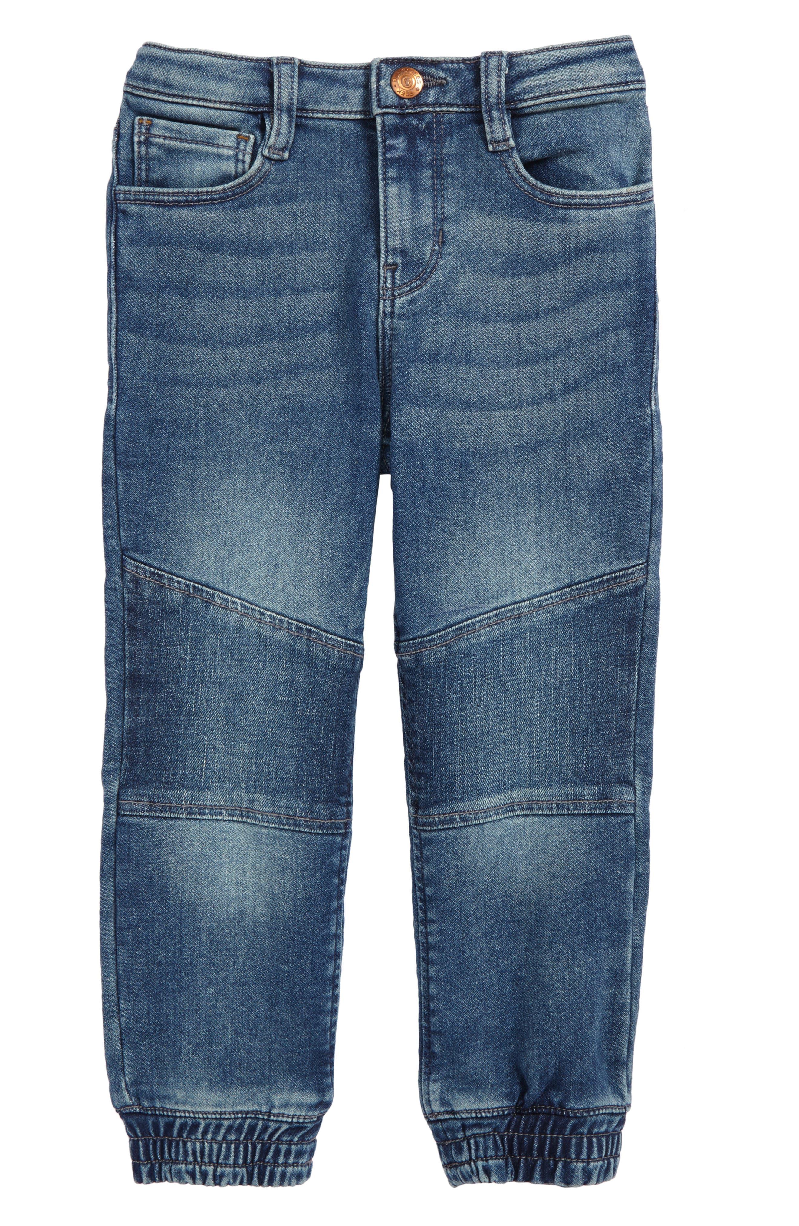 Cruz Denim Jogger Pants,                         Main,                         color, Indigo