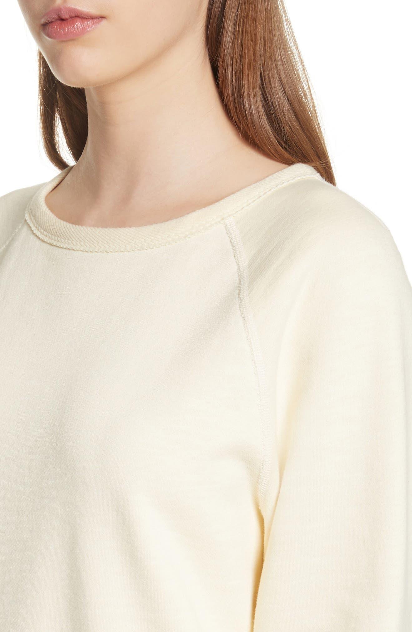 Alternate Image 4  - rag & bone/JEAN The Raglan Sweatshirt
