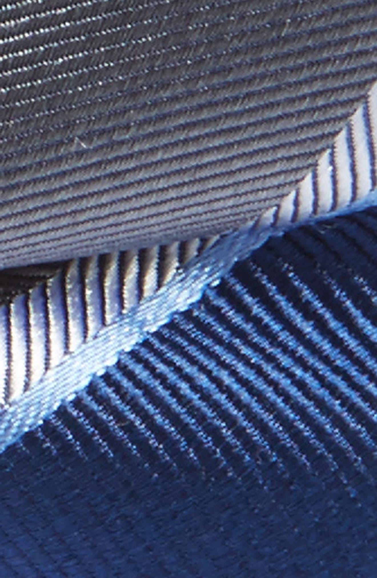 Alternate Image 2  - Nordstrom Stripe Silk Bow Tie (Boys)