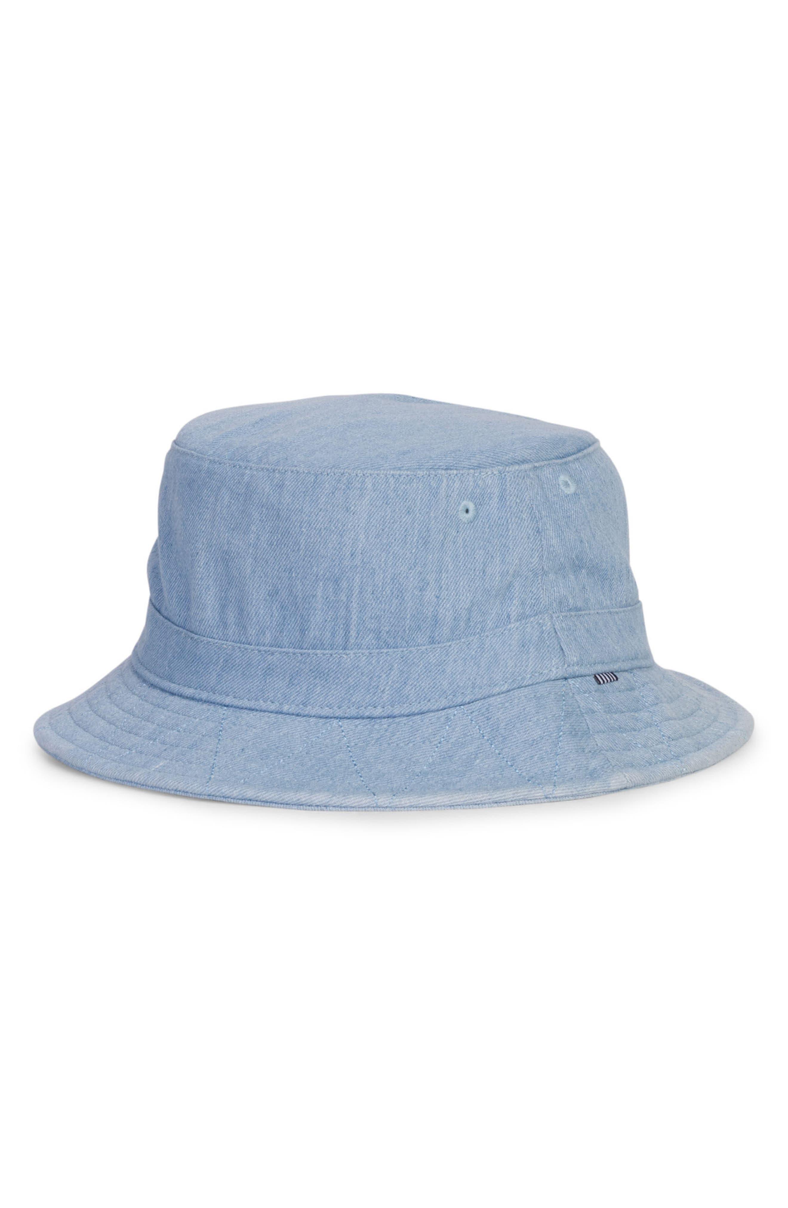 Lake Denim Bucket Hat,                         Main,                         color, Faded Denim