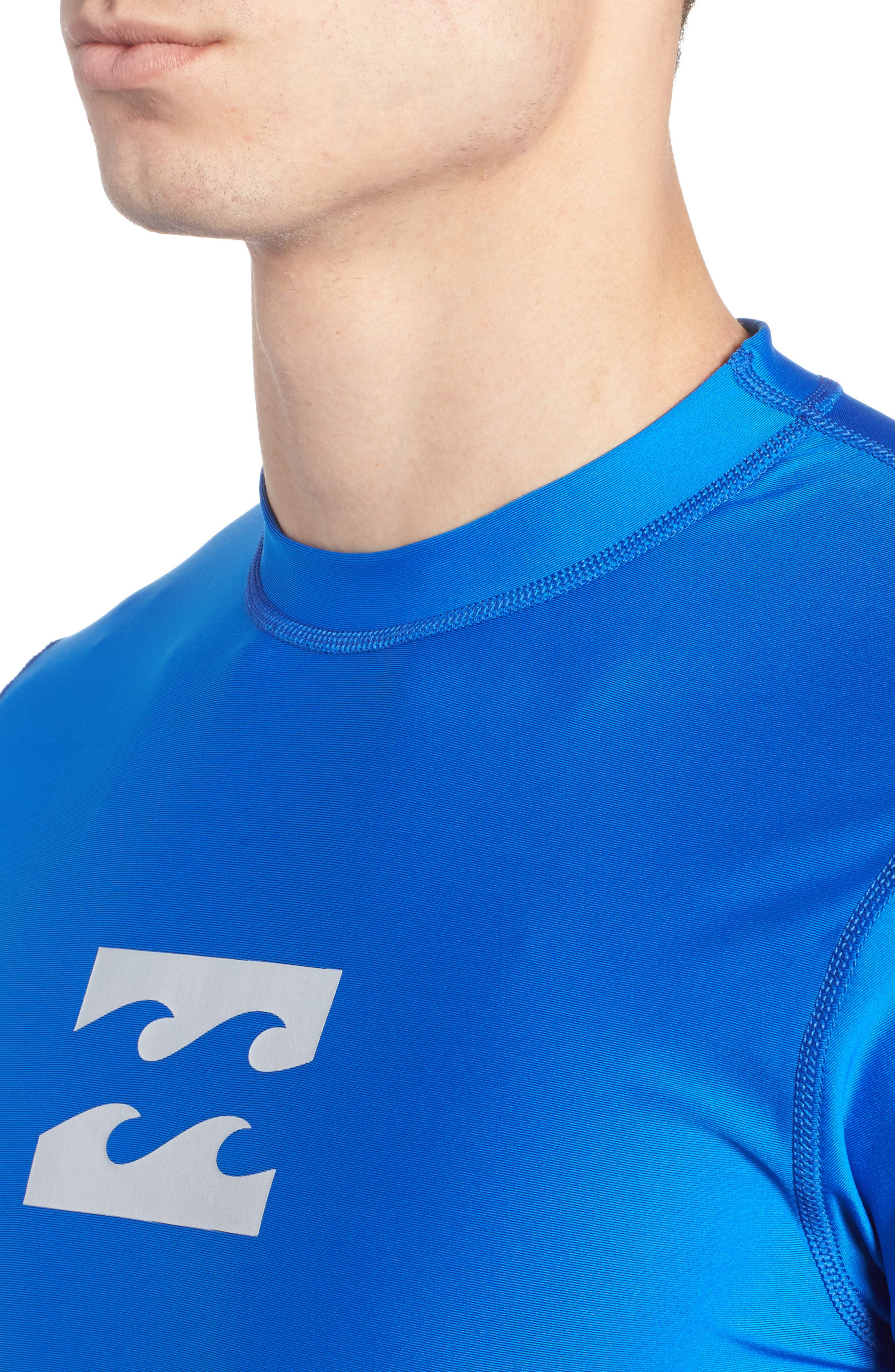All Day Wave Graphic T-Shirt,                             Alternate thumbnail 4, color,                             Royal