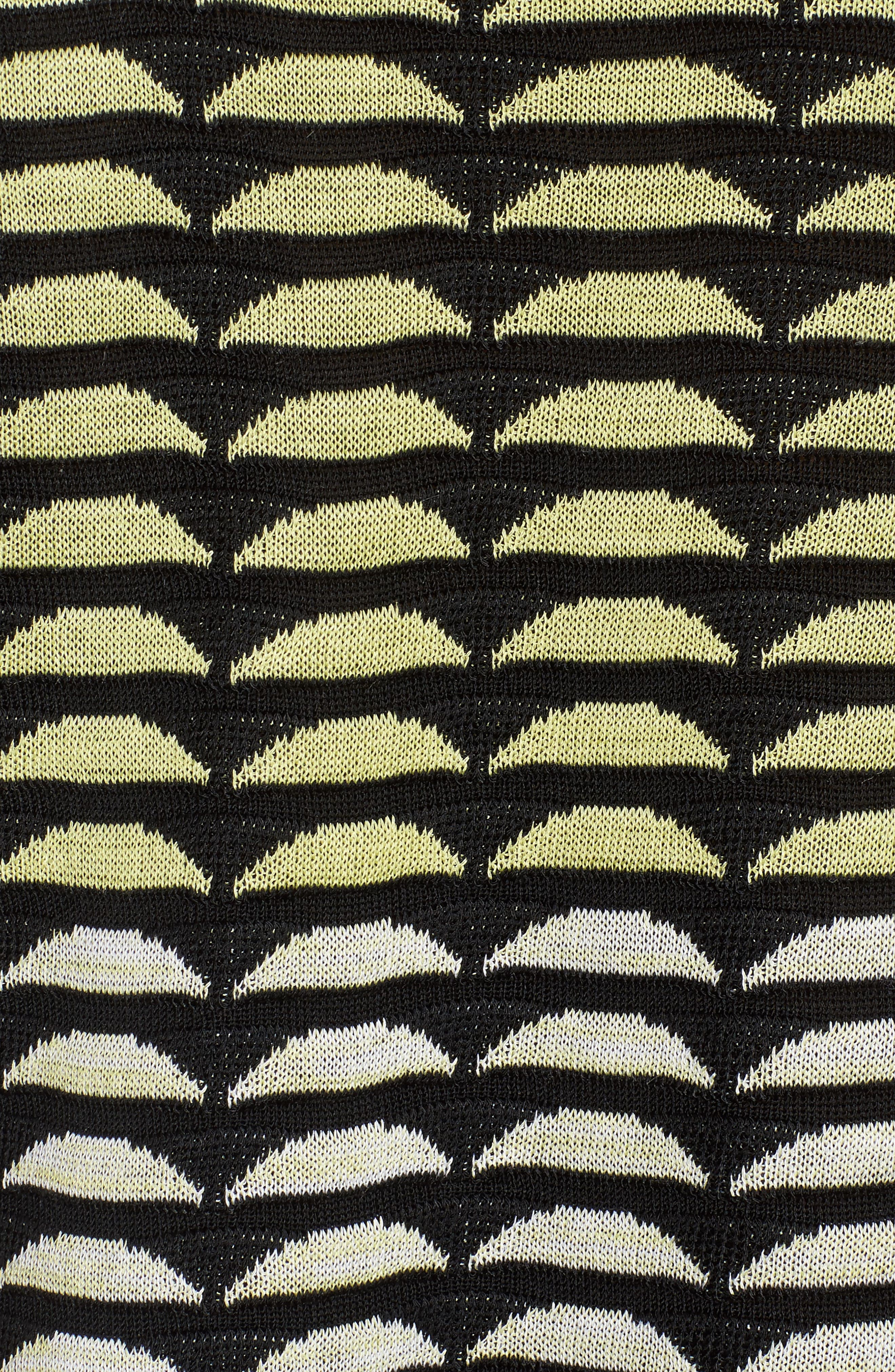Reversible Scoop Neck Knit Tank,                             Alternate thumbnail 5, color,                             Aurora/ Black/ White
