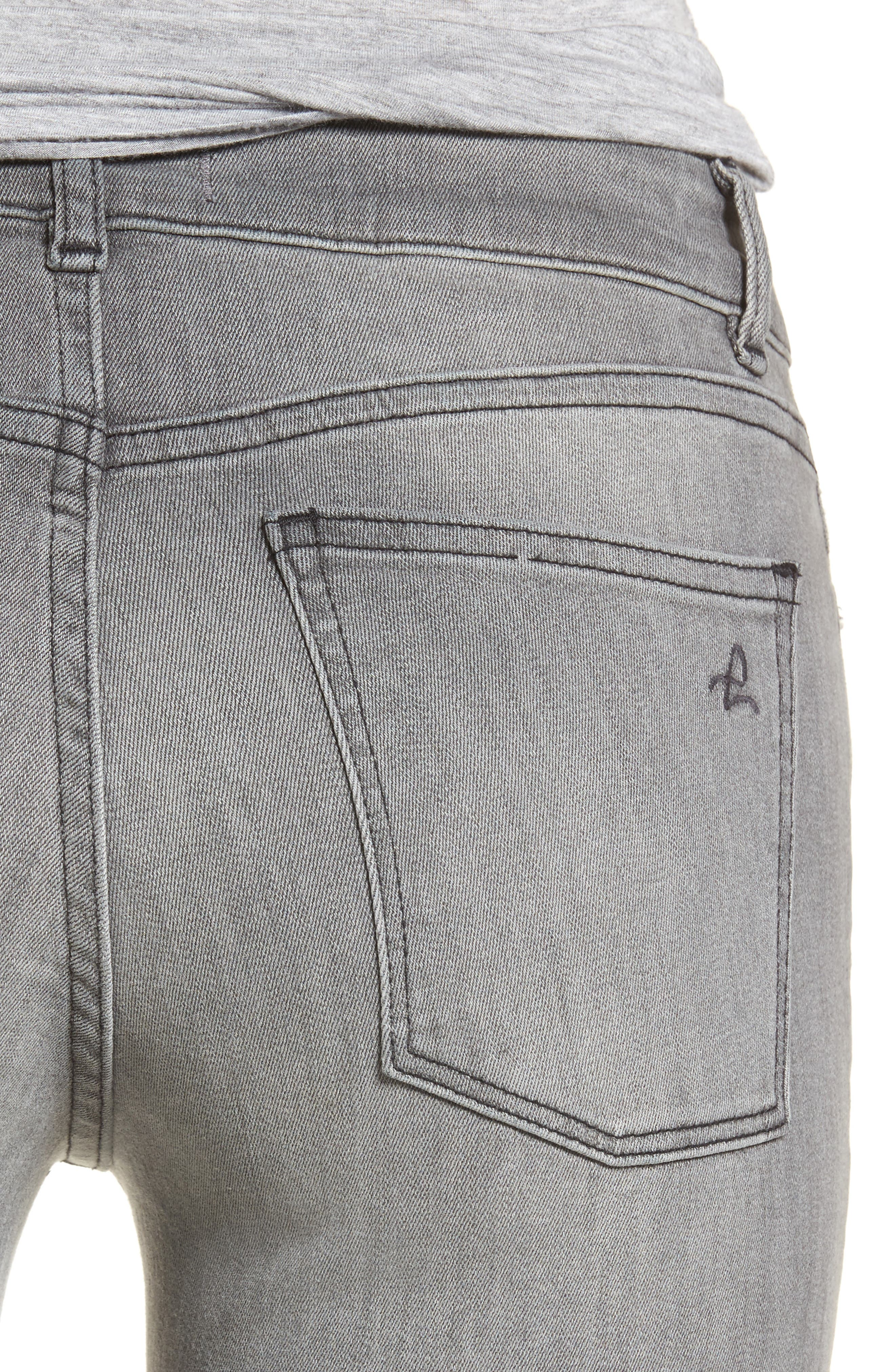 Emma Power Legging Jeans,                             Alternate thumbnail 4, color,                             Tarrant