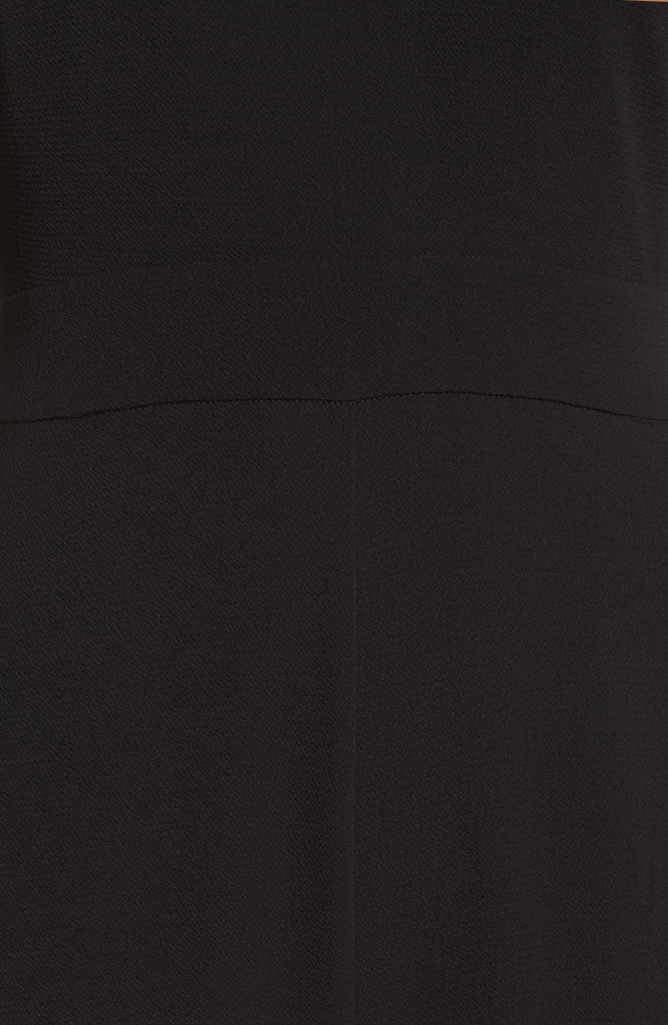 Alternate Image 5  - Charles Henry Flare Cuff Jumpsuit (Regular & Petite)