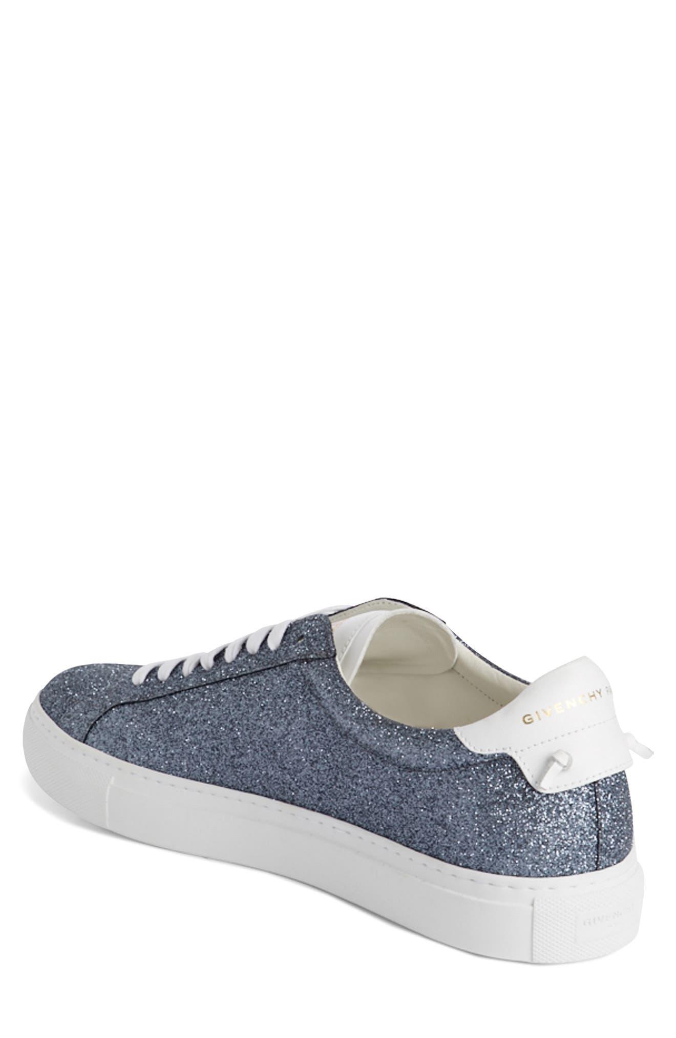 Urban Knots Glitter Sneaker,                             Alternate thumbnail 2, color,                             Grey