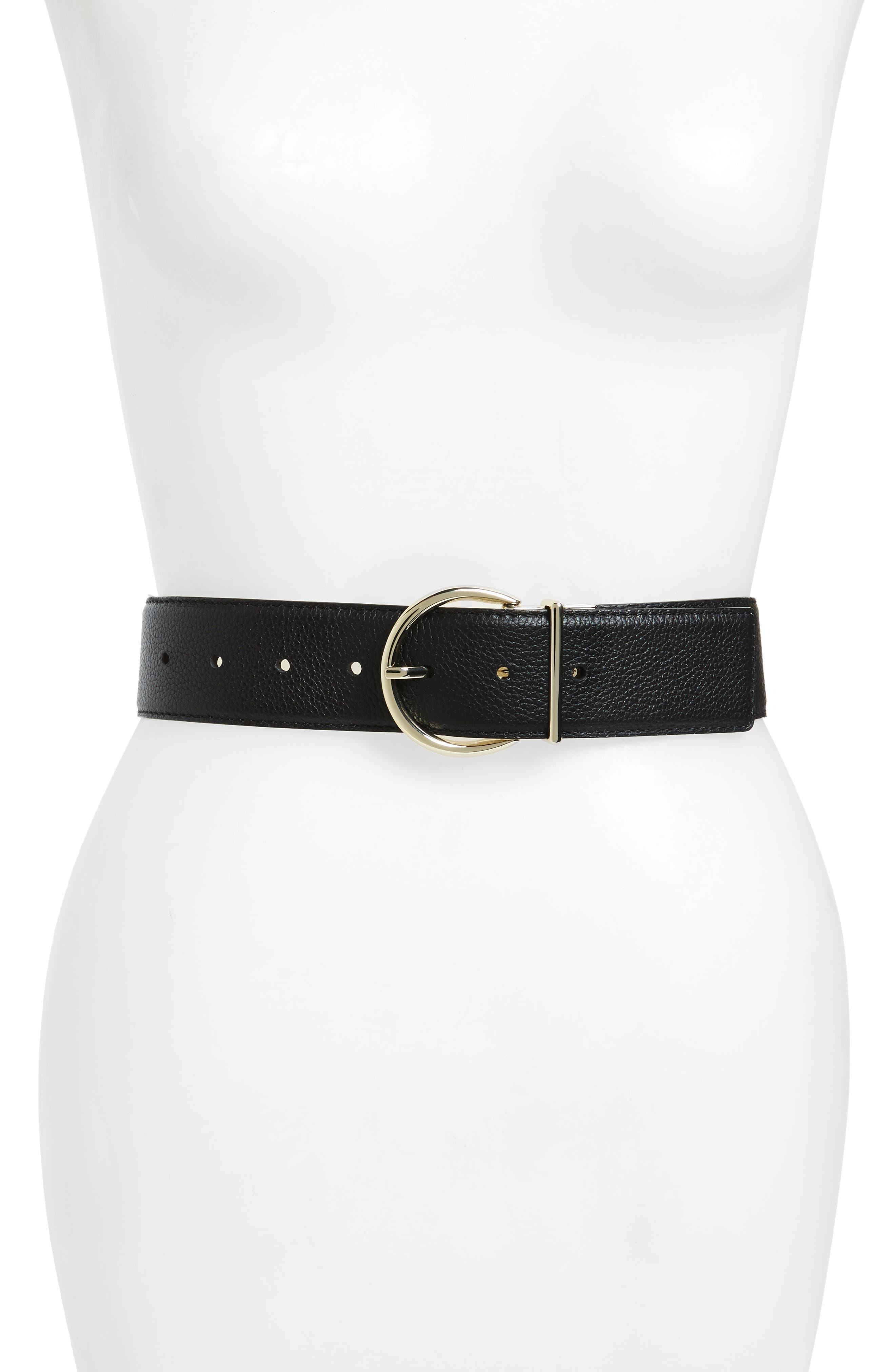 Main Image - kate spade new york reversible sparkle leather belt