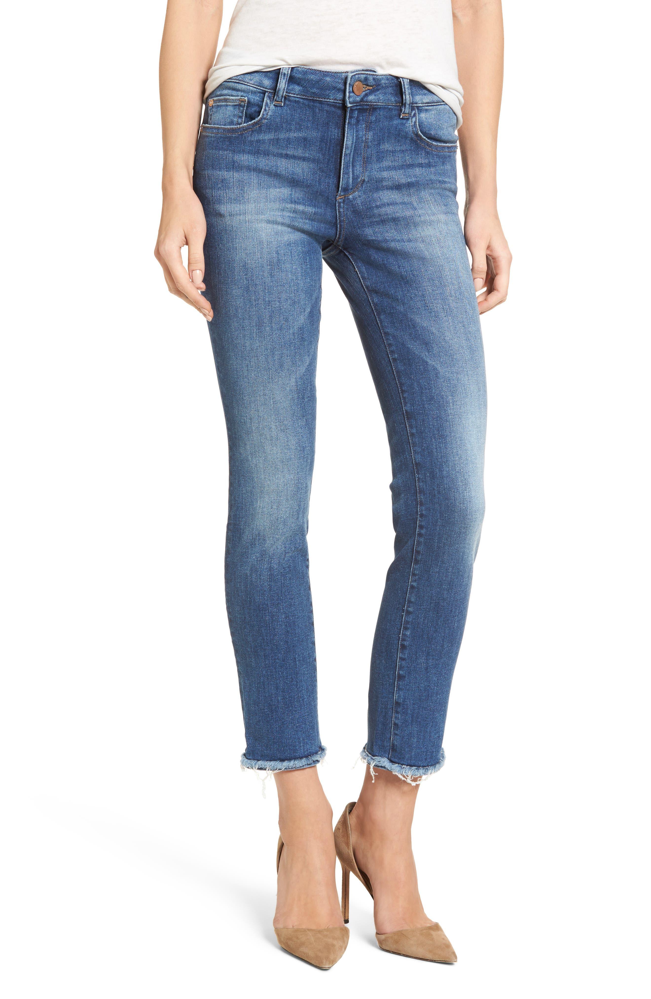 Mara Ankle Straight Leg Jeans,                             Main thumbnail 1, color,                             Fillmore
