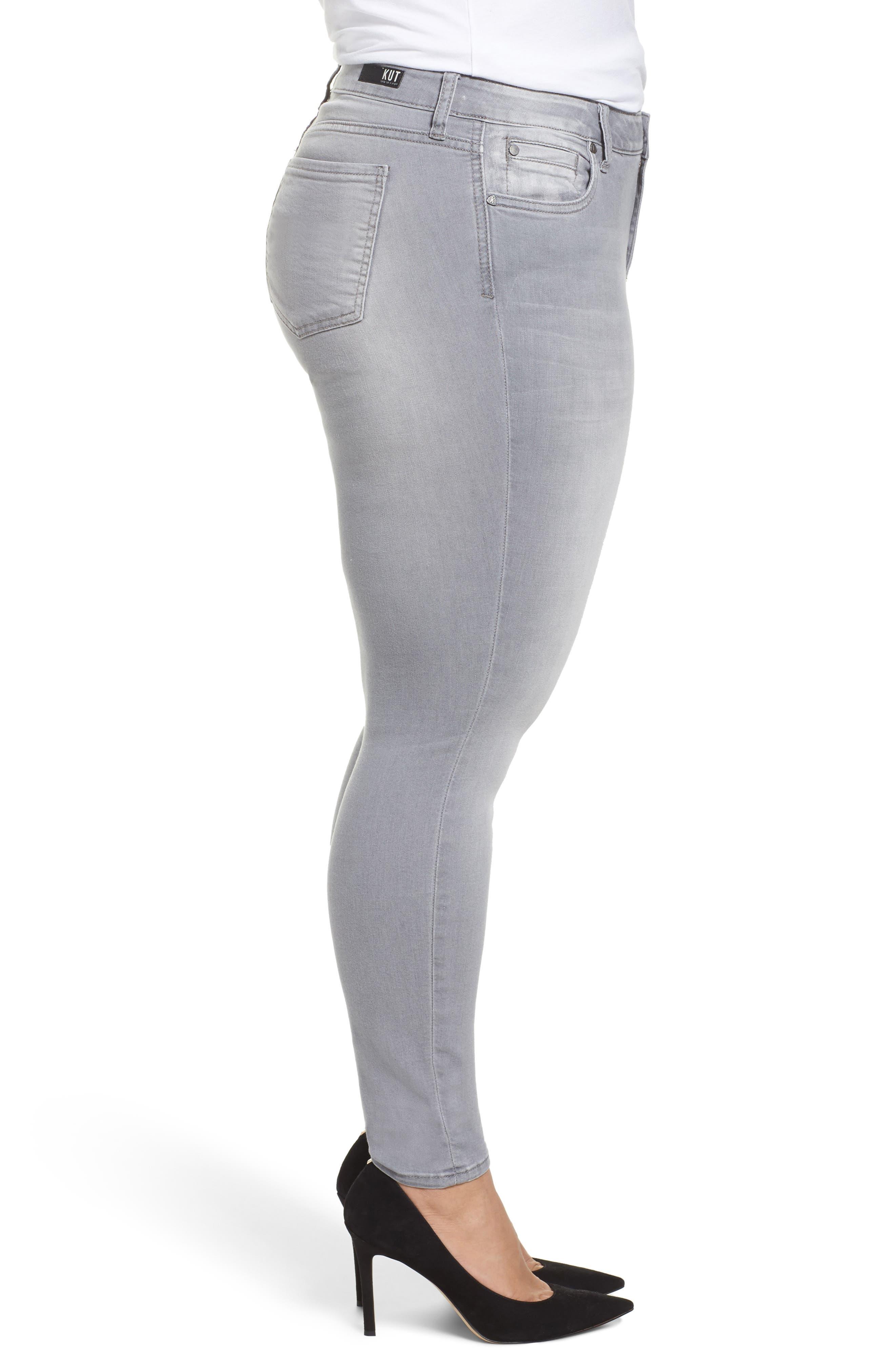 Mia Skinny Jeans,                             Alternate thumbnail 3, color,                             Prevailed