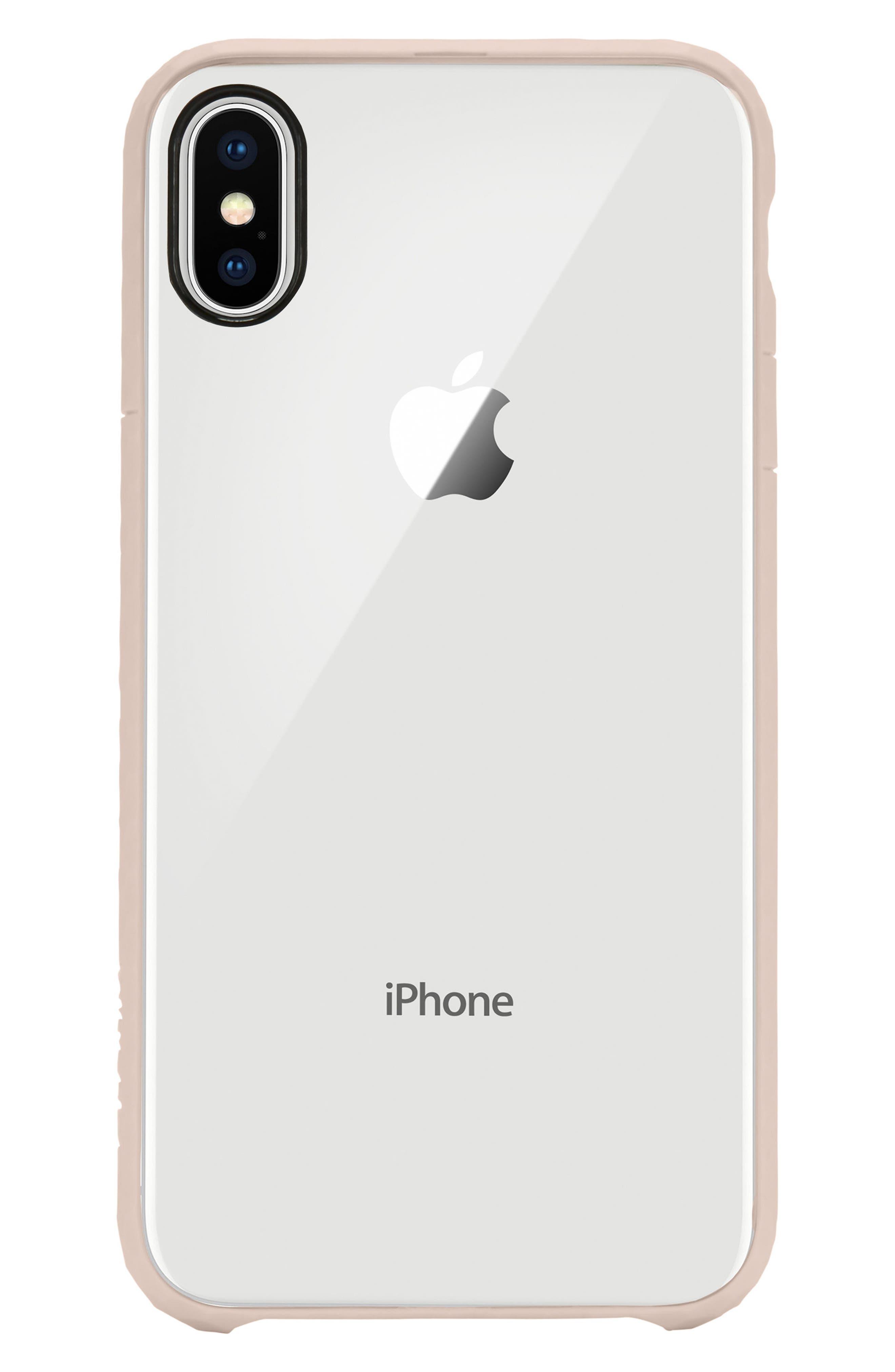 Pop iPhone X Case,                             Main thumbnail 1, color,                             Rose Gold