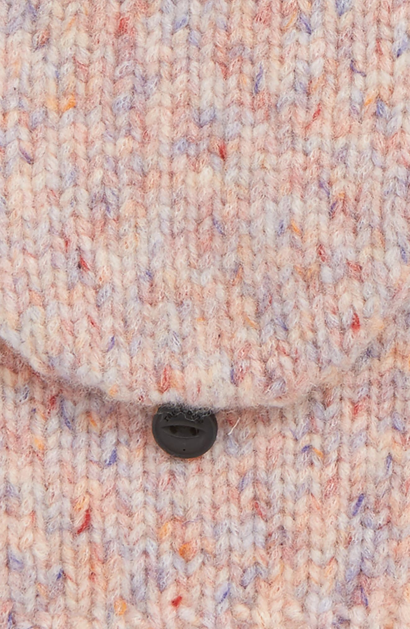 Devin Convertible Wool Blend Mittens,                             Alternate thumbnail 2, color,                             Pink Multi