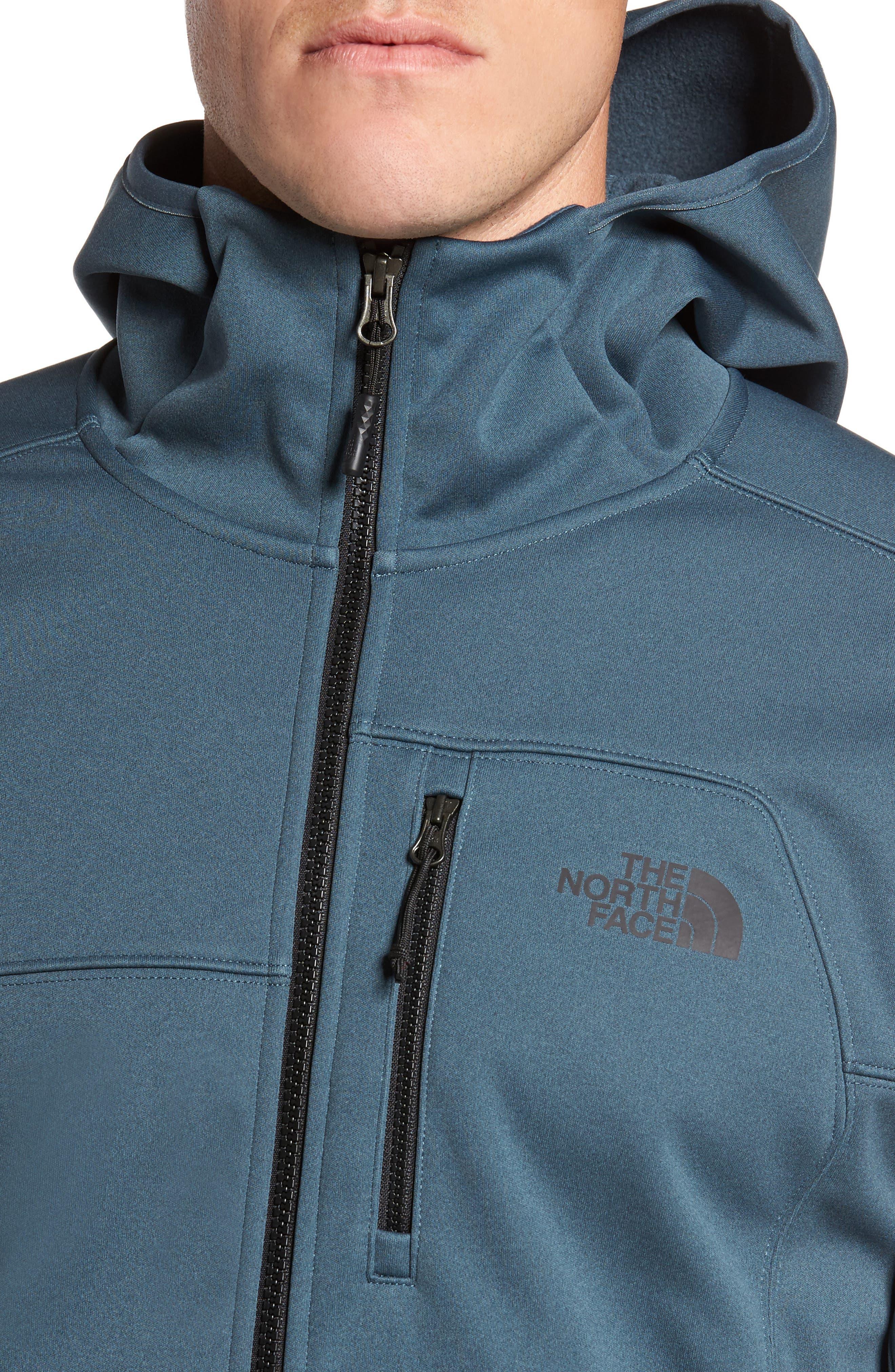 Apex Risor Jacket,                             Alternate thumbnail 4, color,                             Conquer Blue Heather